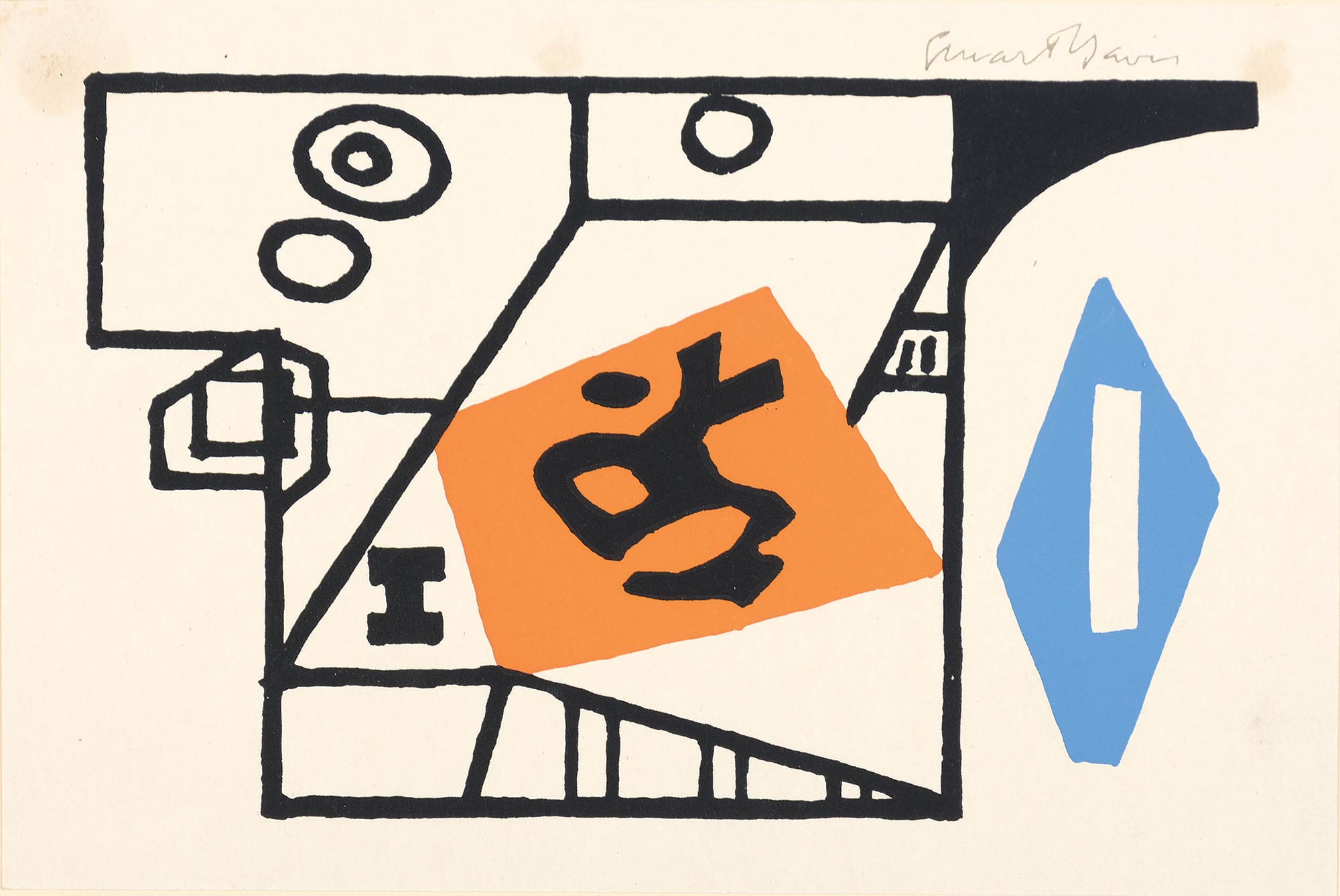 Lot image - After Stuart Davis