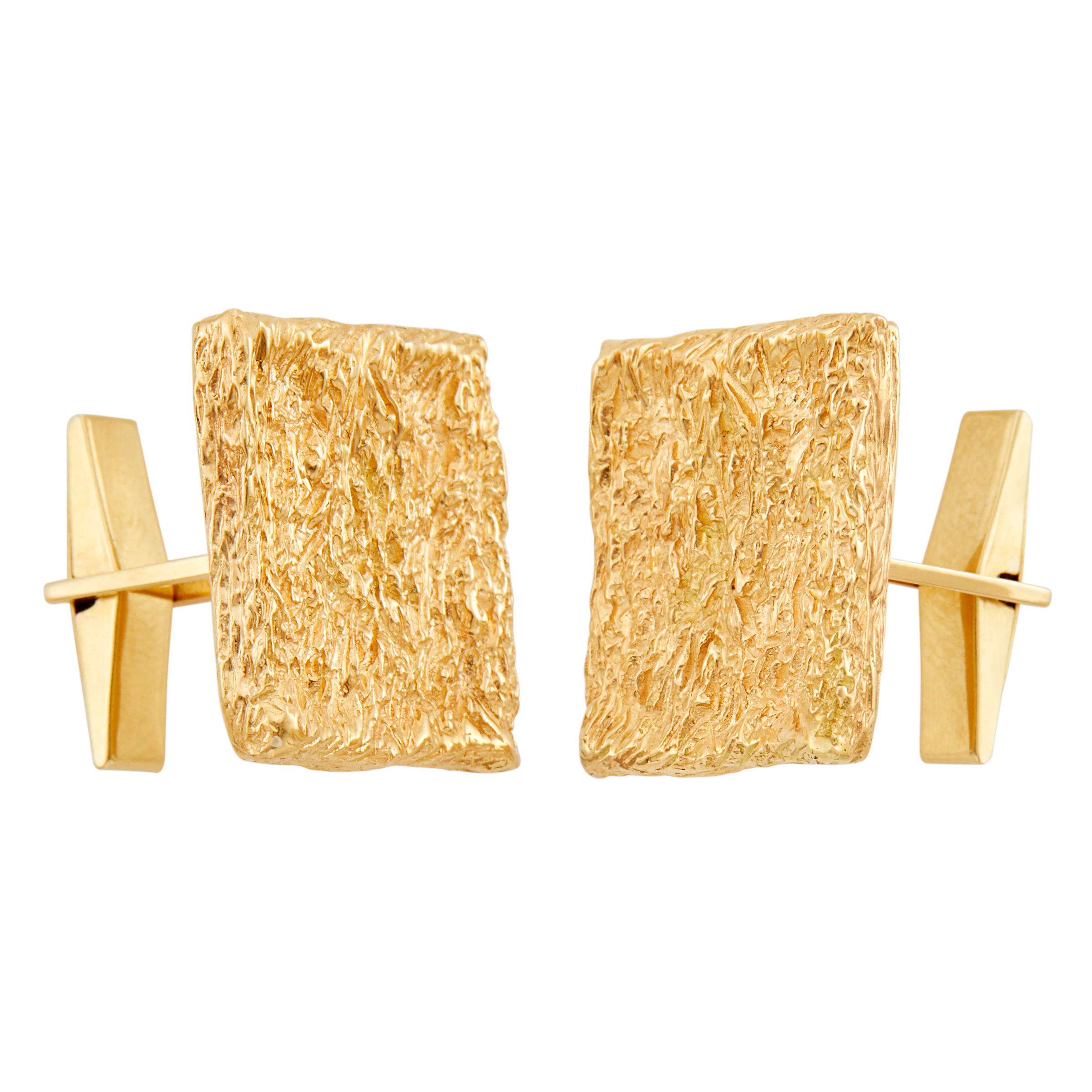 Lot image - Van Cleef & Arpels Pair of Gold Cufflinks