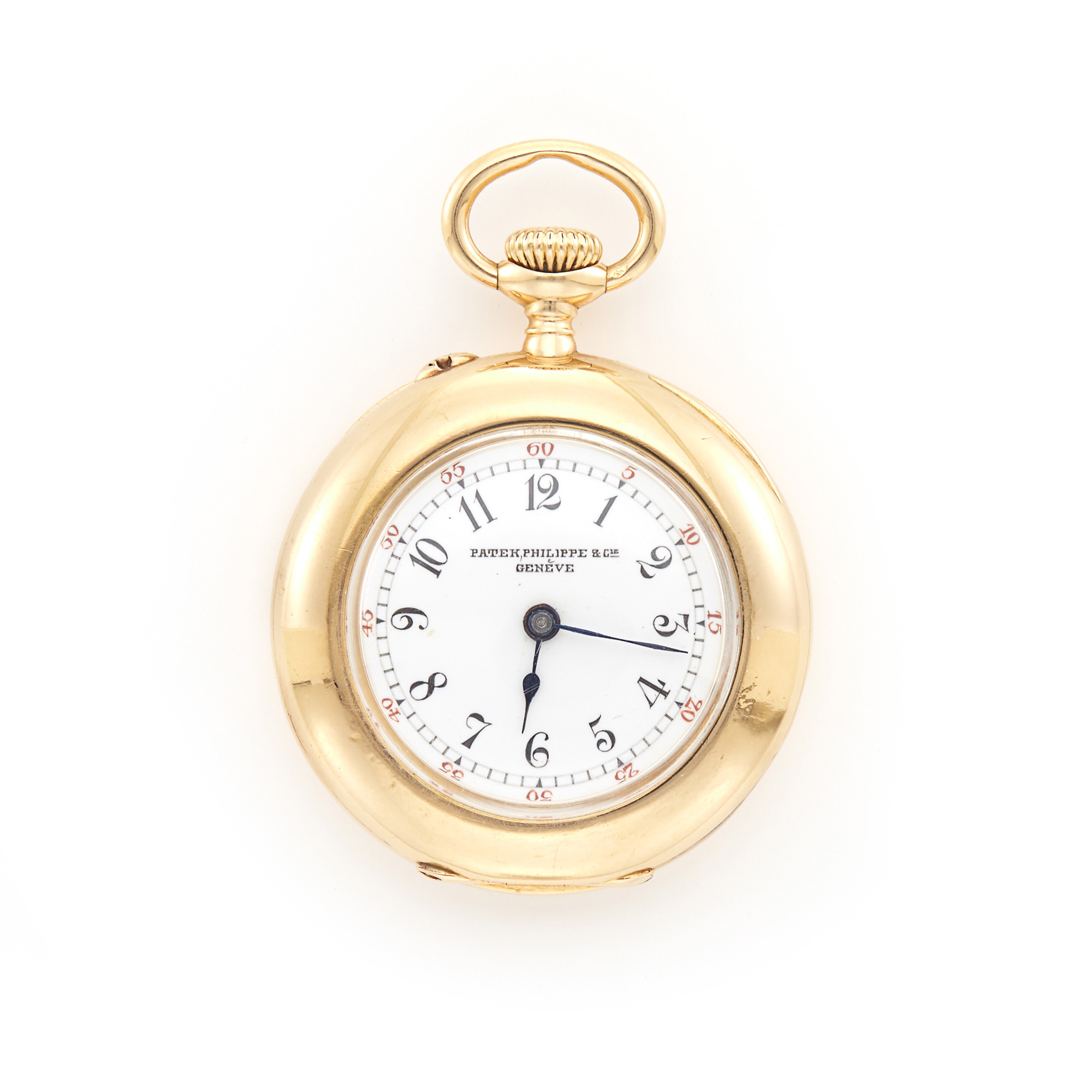 Lot image - Ladys Gold Open Face Pocket Watch, Patek Philippe