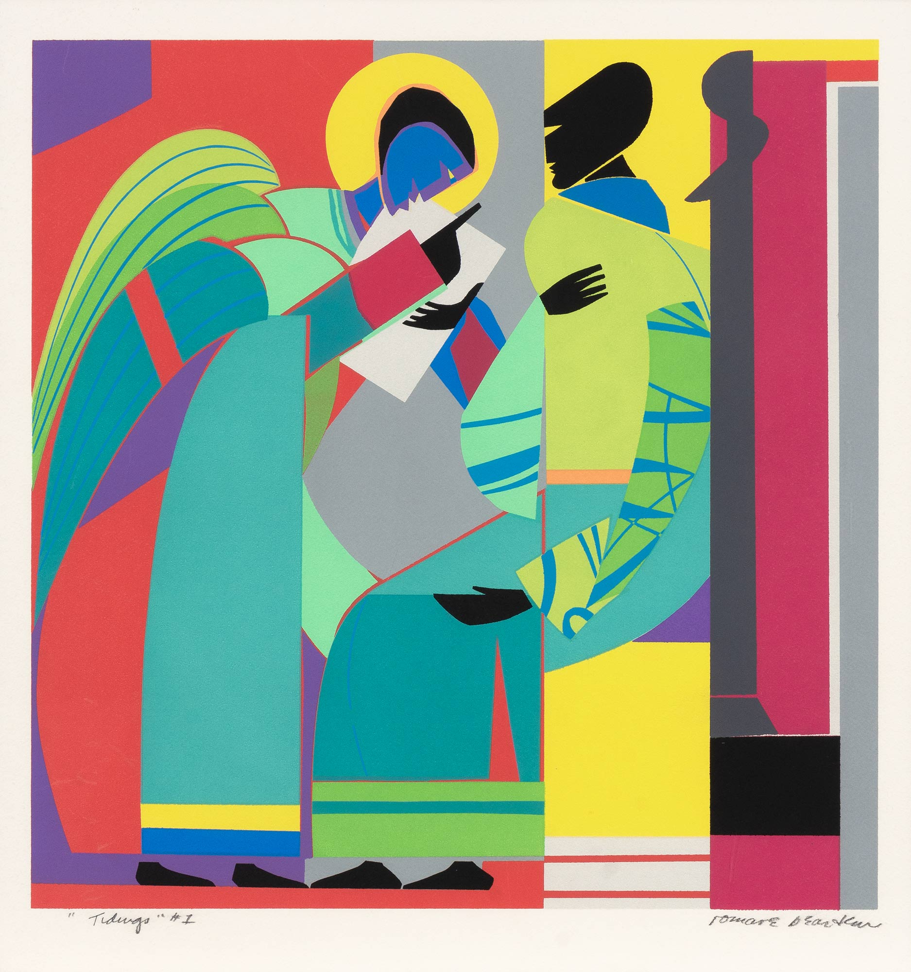 Lot image - Romare Bearden (1911-1988)