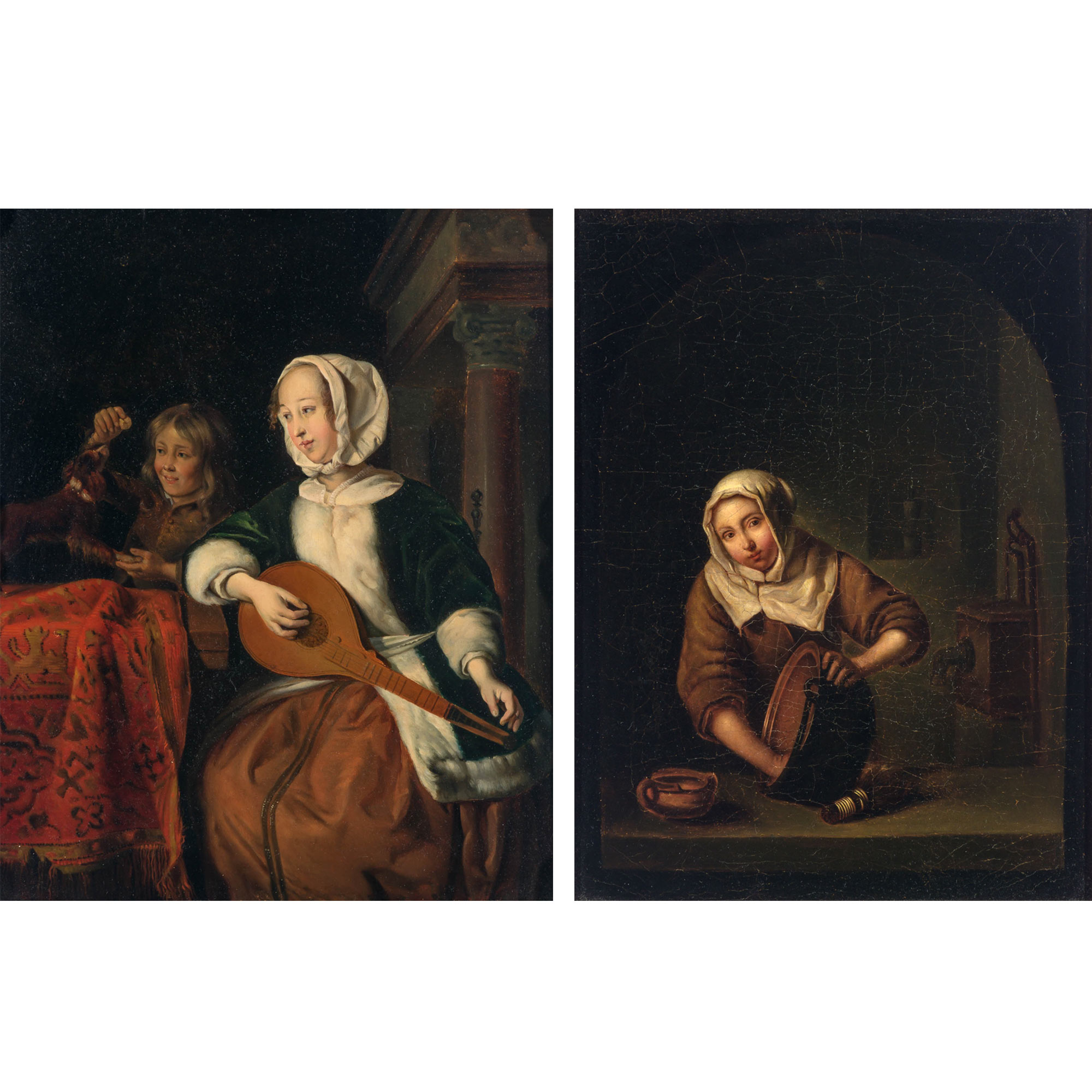 Lot image - Manner of Gerard ter Borch