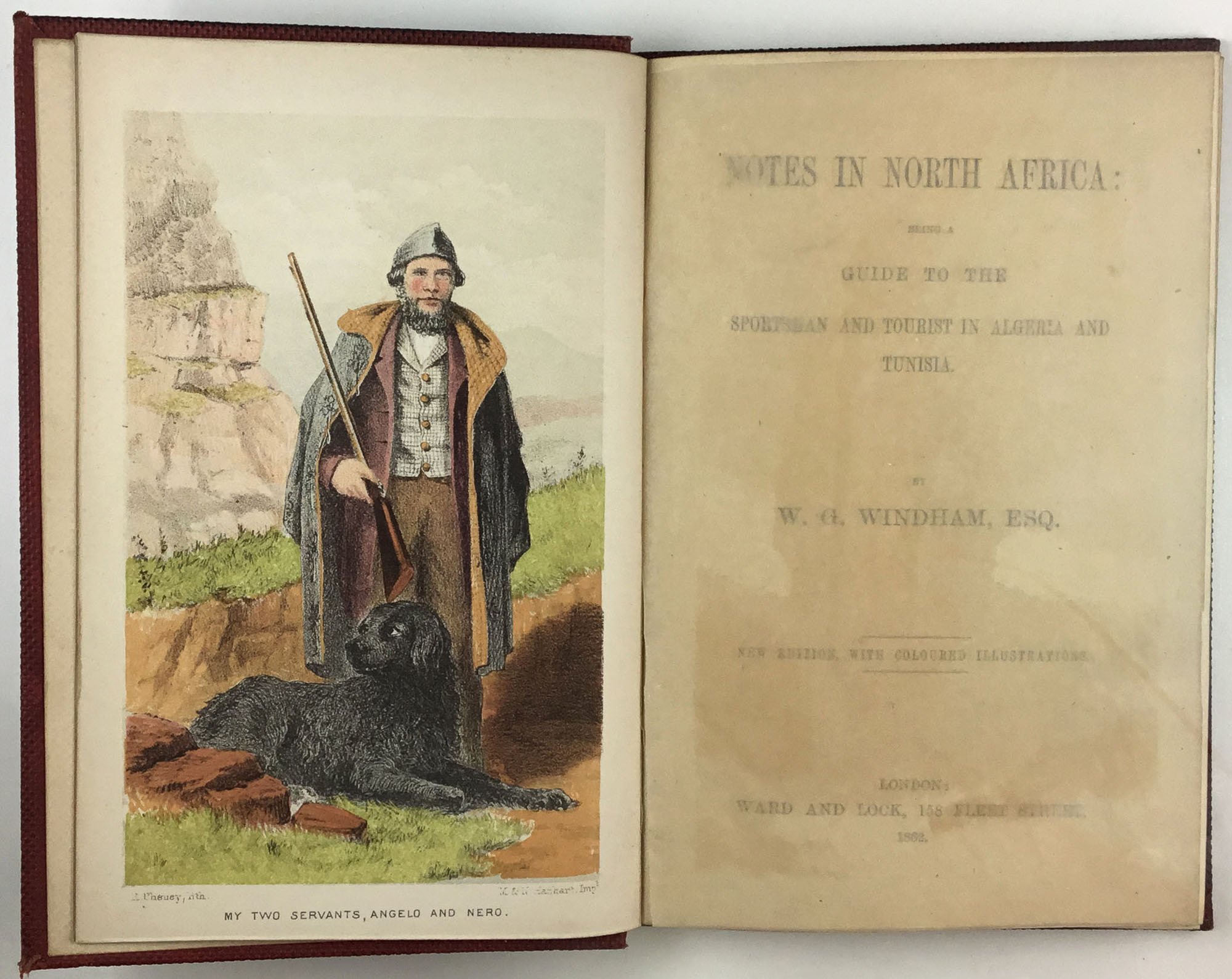 Lot image - WINDHAM, W. G.  Notes in North Africa: being a guide to the sportsman and tourist in Algeria and Tunisia.