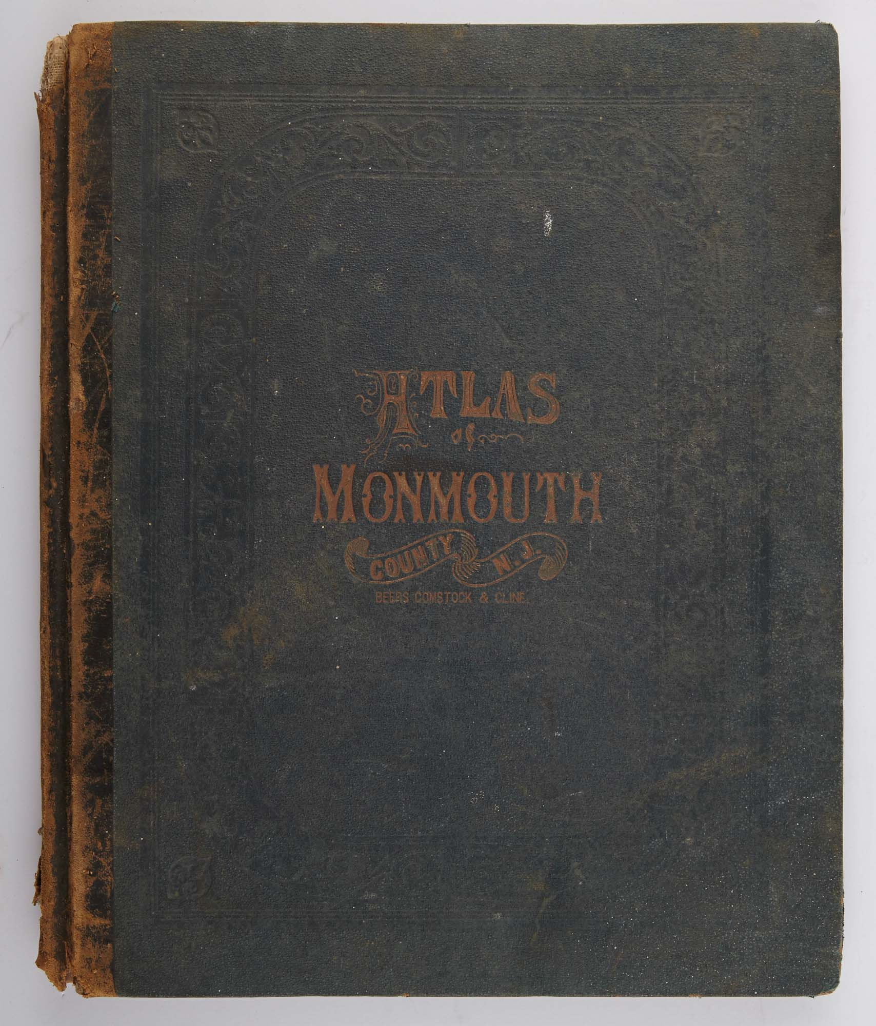 Lot image - BEERS, F. W.  Atlas of Monmouth Co. New Jersey. From Recent and Actual Surveys and Records.