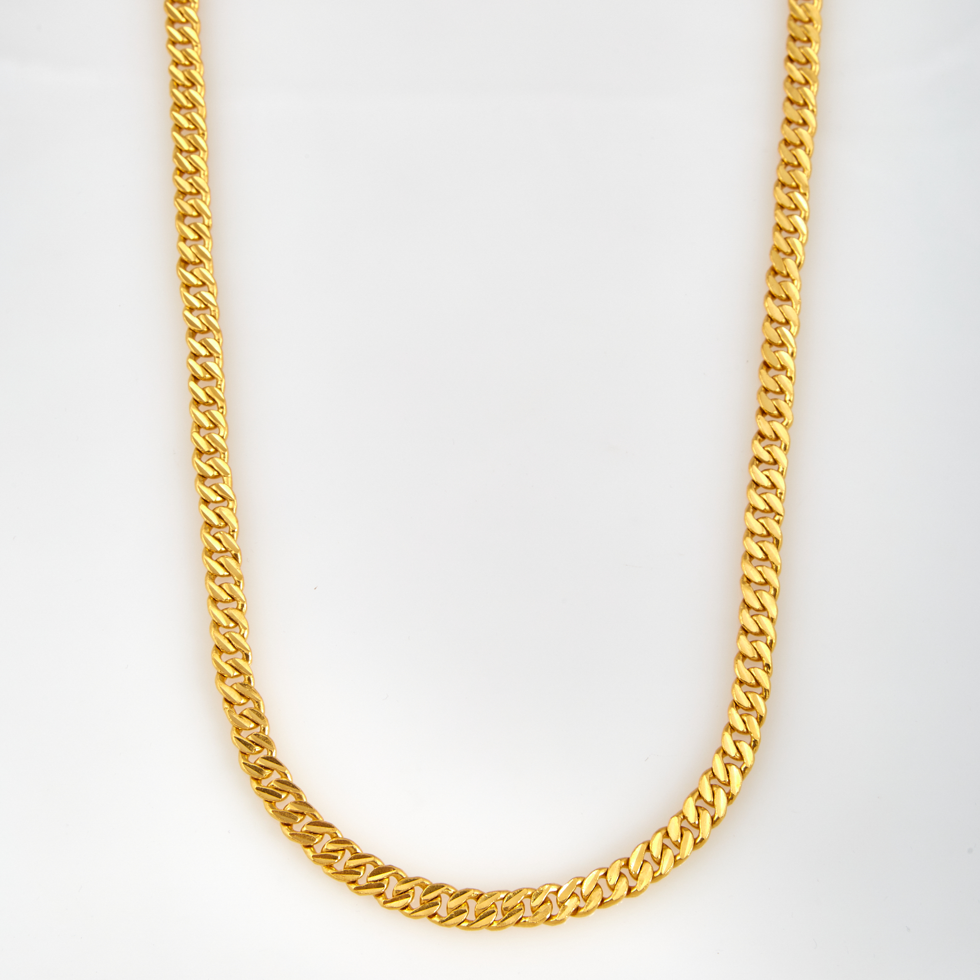 Lot image - Gold Neck Chain, 24K 73 dwt.