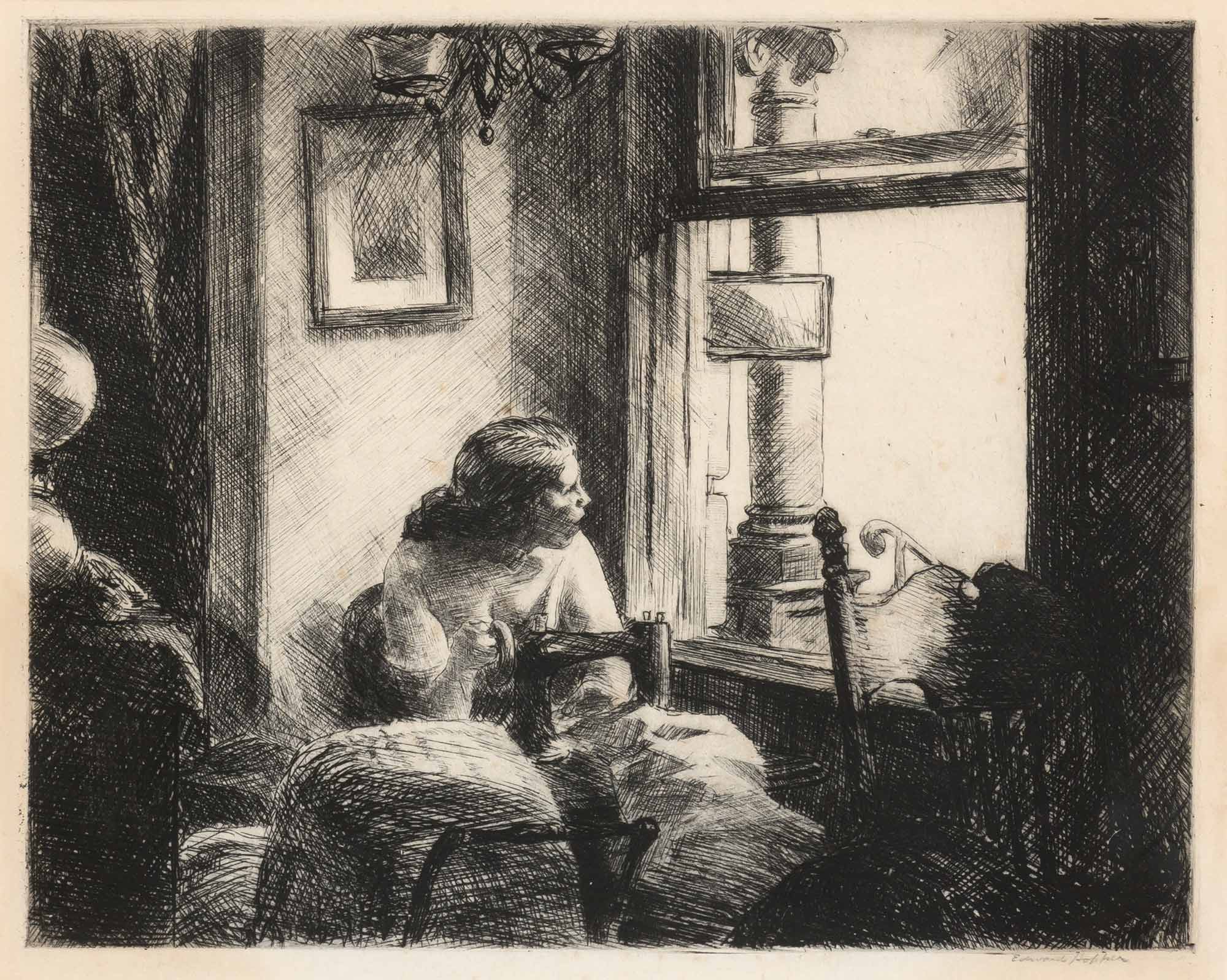 Lot image - Edward Hopper (1882-1967)