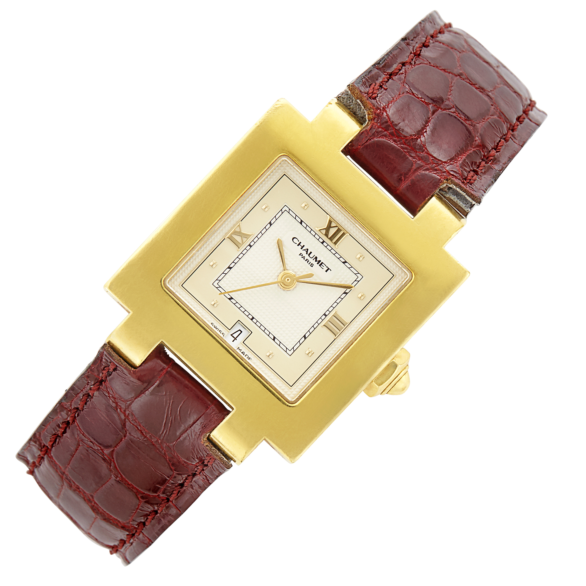 Lot image - Gold Wristwatch, Chaumet, Paris