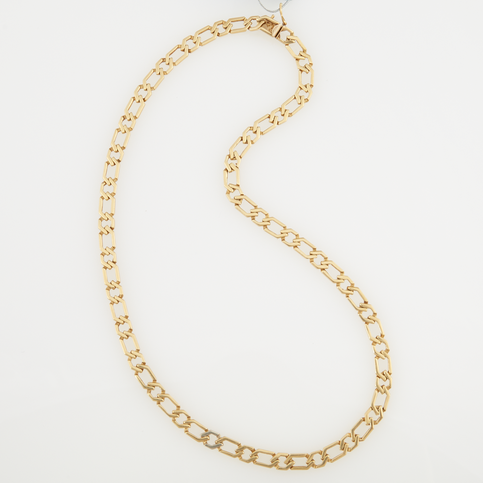 Lot image - Gold Neck Chain, 14K 27 dwt.