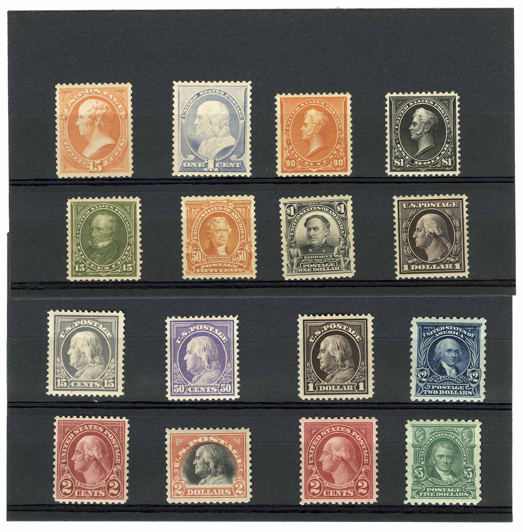 Lot image - United States Regular Issue Postage Stamps