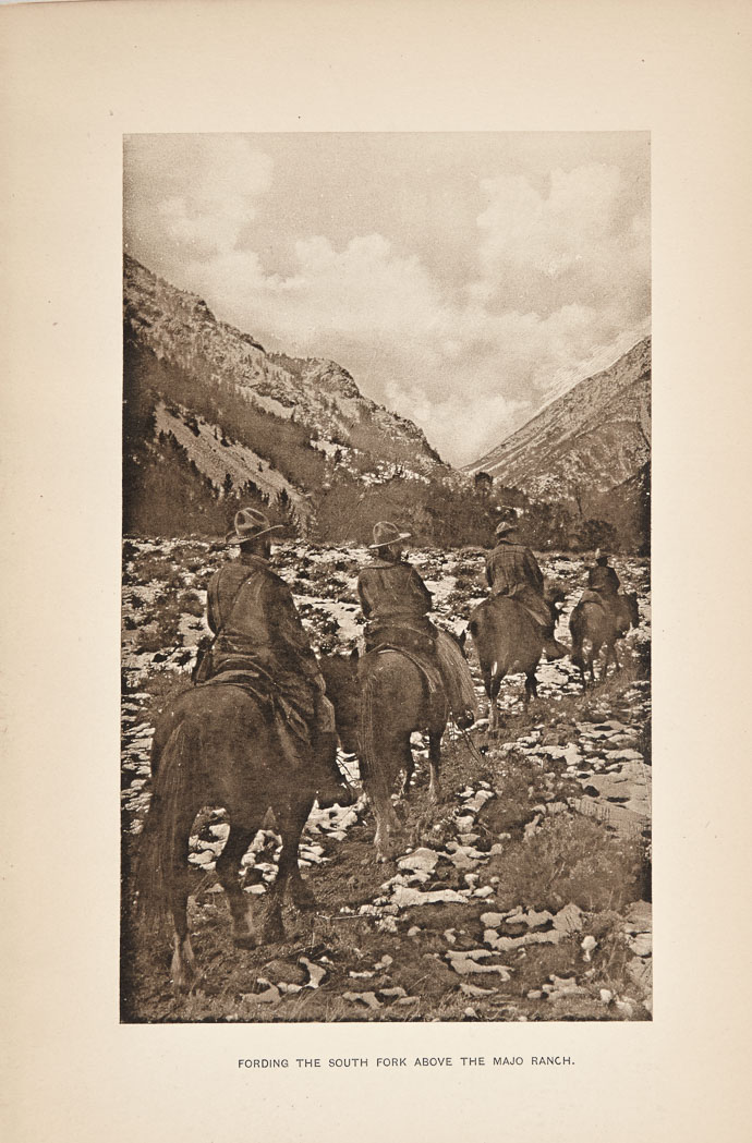 Lot image - [WYOMING-McALEENAN, JOSEPH]  Diary of the Wyoming bear hunt.