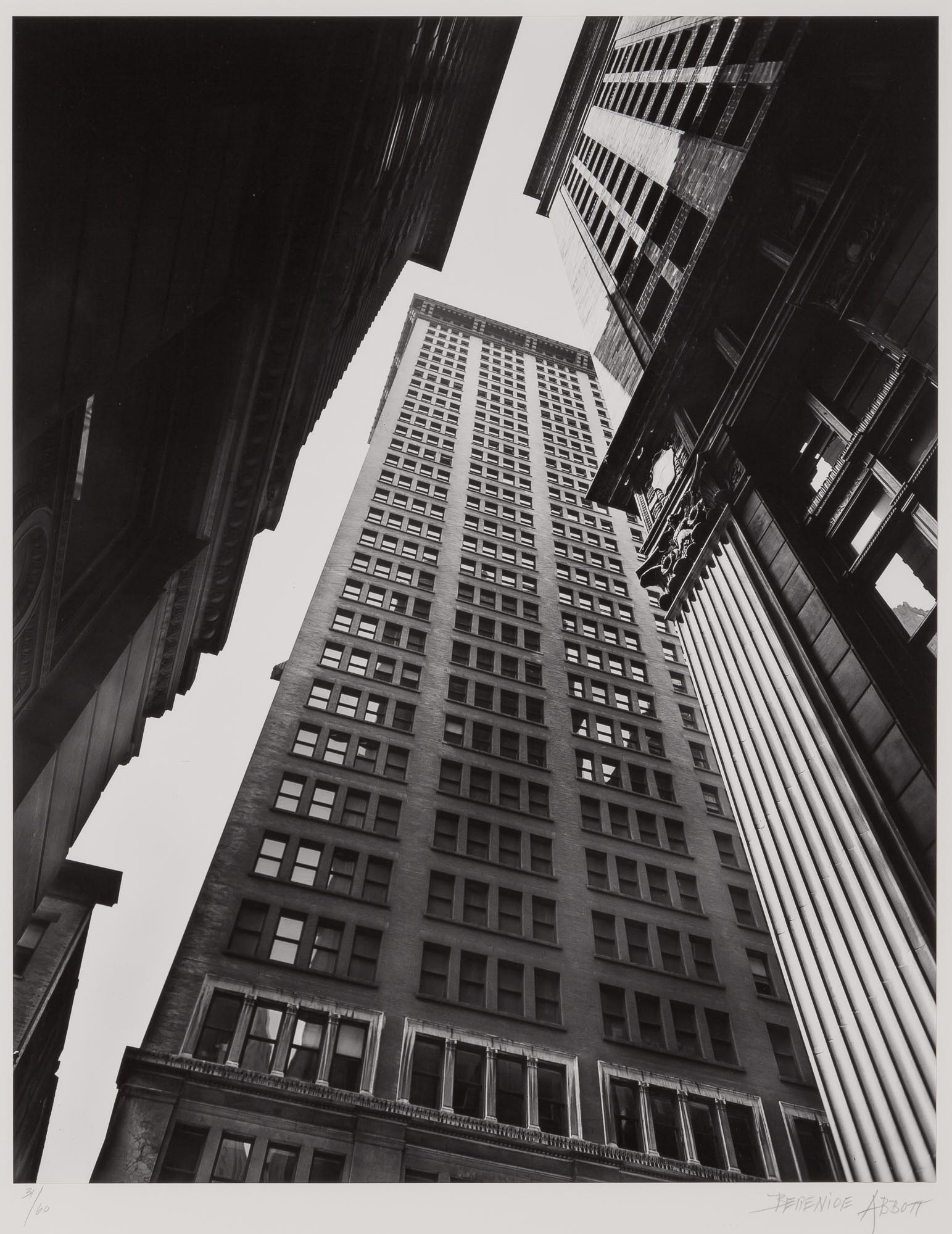 Lot image - ABBOTT, BERENICE (1898-1991)  Canyon-Broadway & Exchange Place,