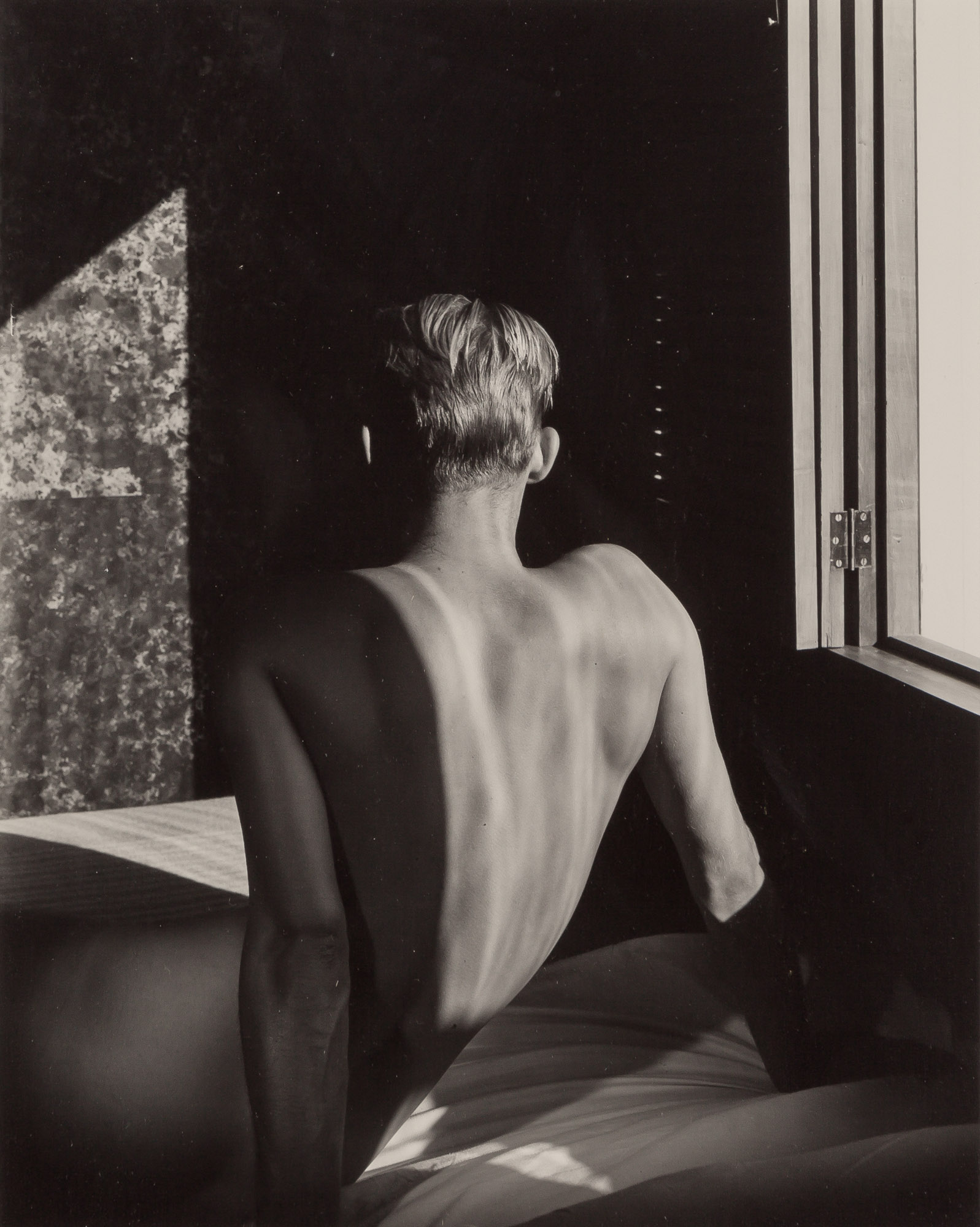 Lot image - LYNES, GEORGE PLATT (1907-1955)  [Carlos McClendon, back to window],