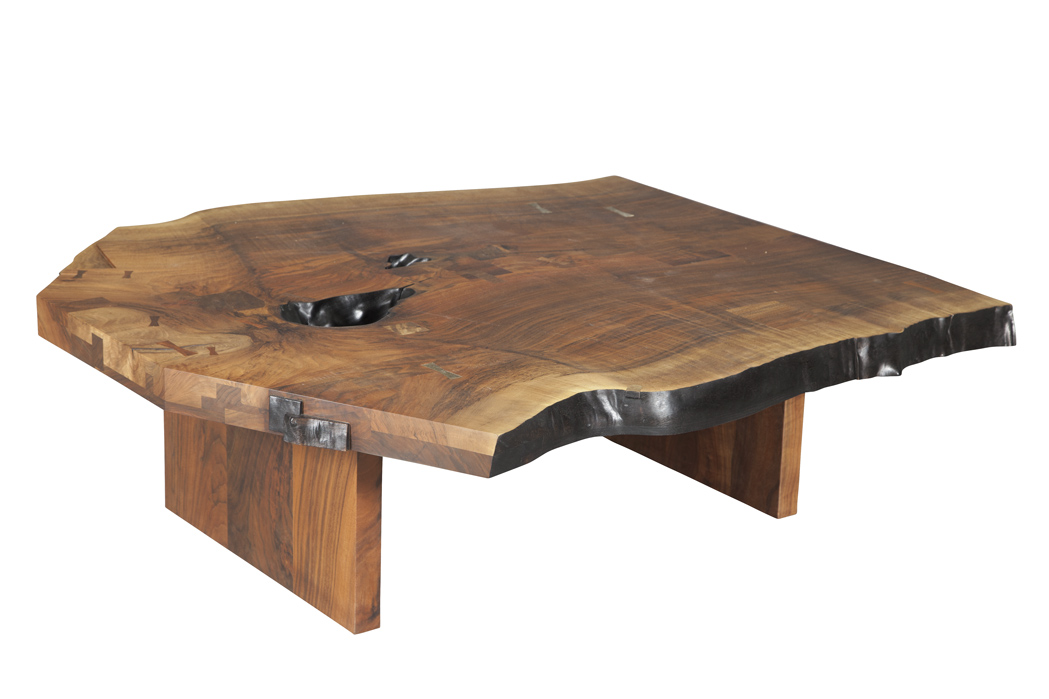 Lot image - Walnut Low Table