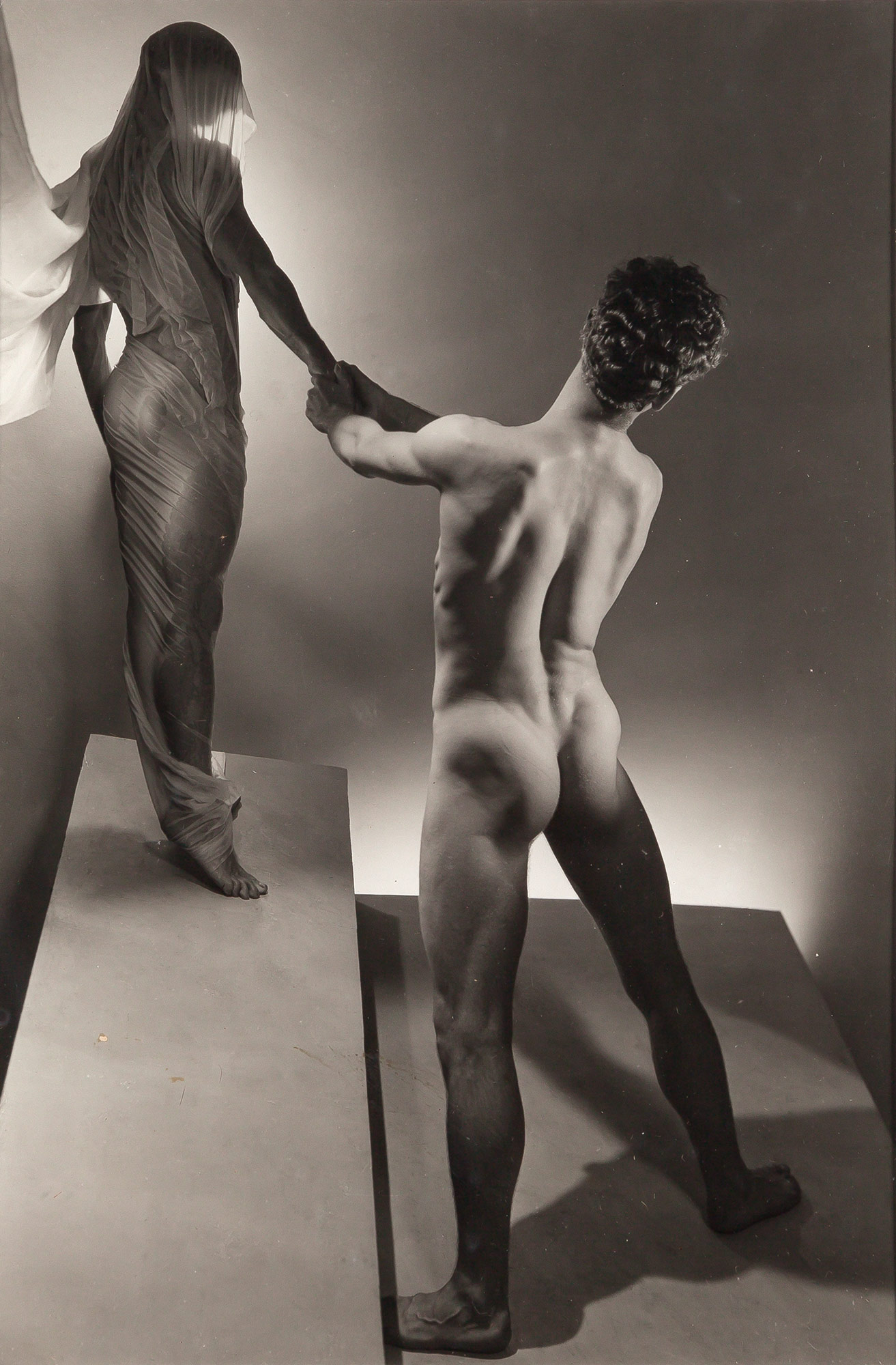 Lot image - LYNES, GEORGE PLATT (1907-1955)  Group of two images. [Orpheus and Eros],