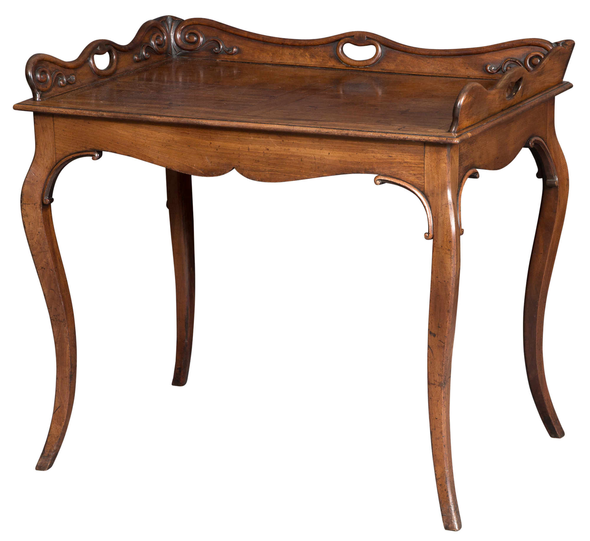 Lot image - English Mahogany Writing Table