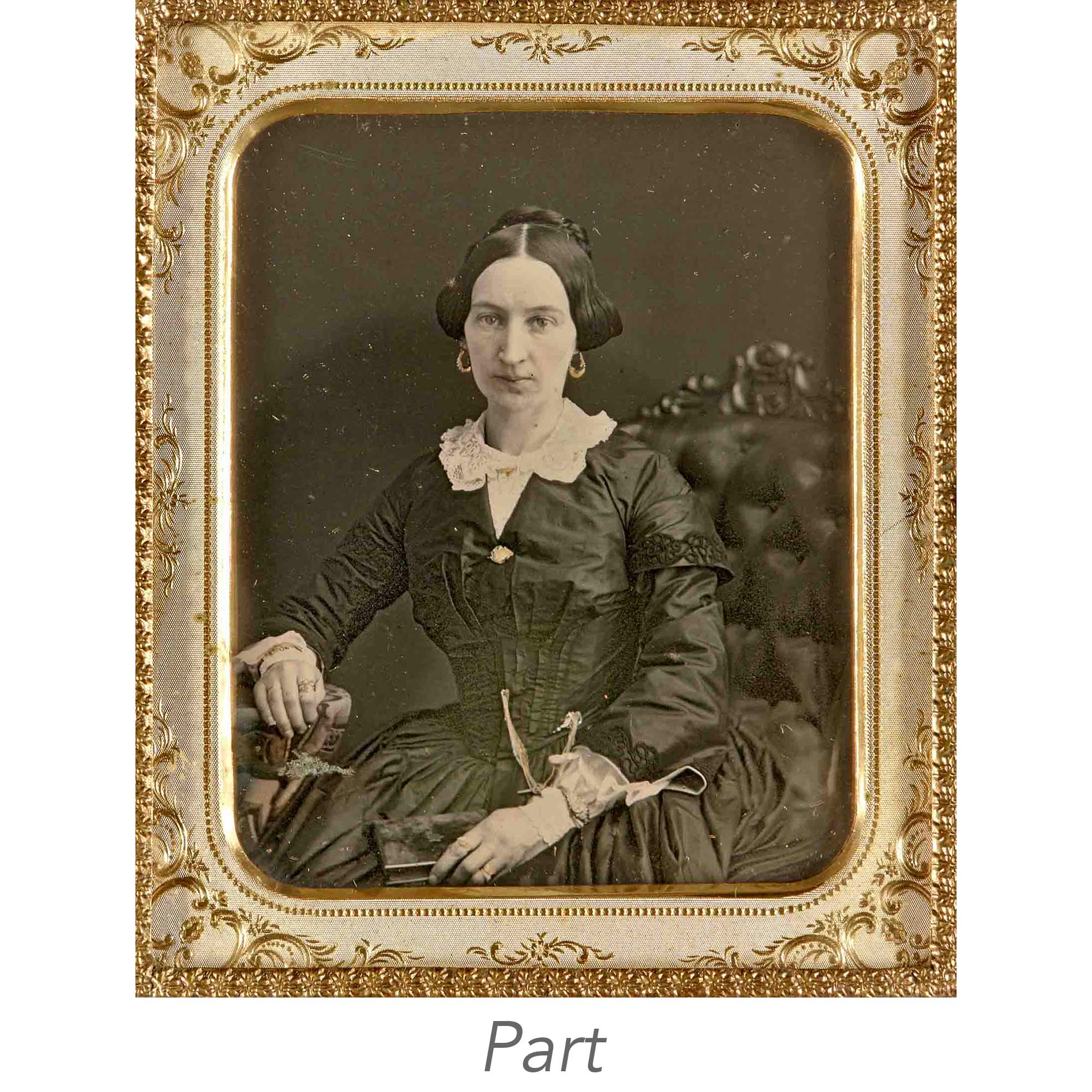 Lot image - [DAGUERREOTYPE-PORTRAIT]   Thirteen images of the Snook family (labelled as such by later hand).