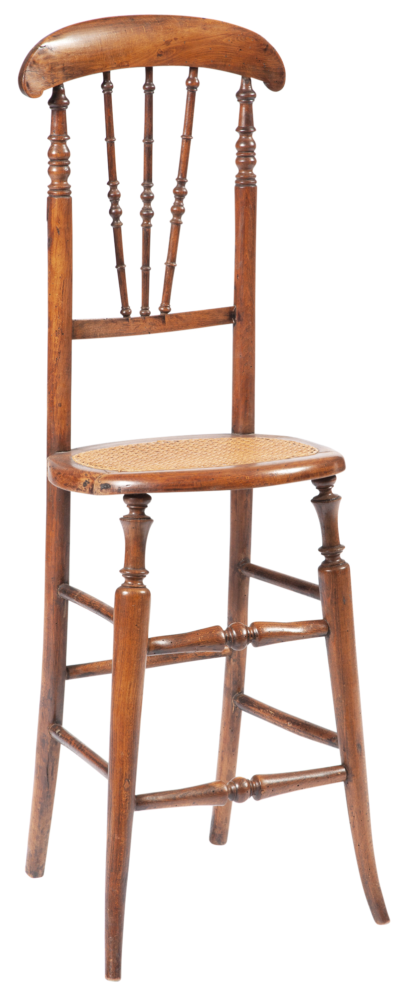 Lot image - Victorian Beechwood Childs High Chair