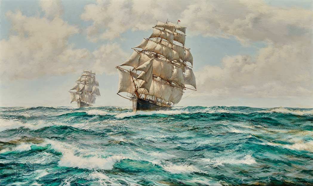 Lot image - Montague Dawson