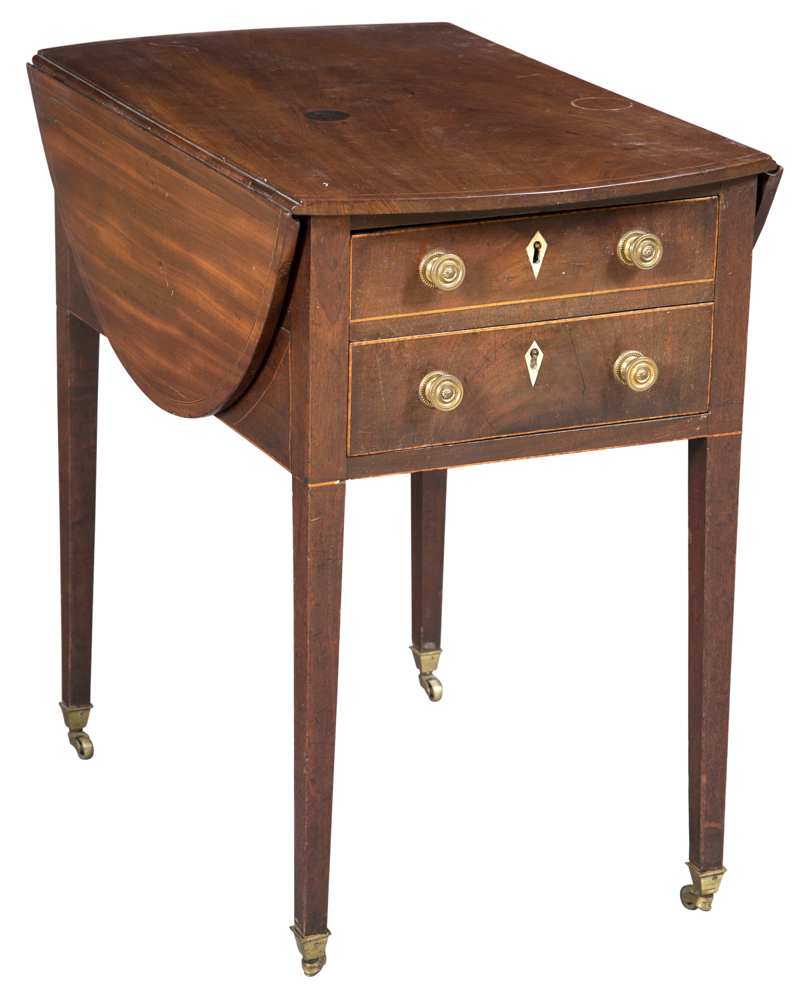 Lot image - George III Mahogany Pembroke Table