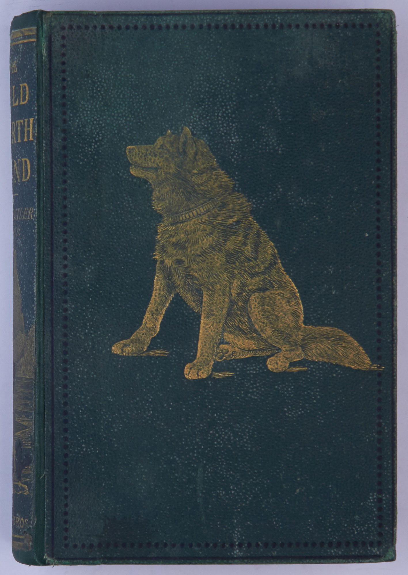Lot image - BUTLER, W. F.  The Wild North Land: being the story of a winter journey, with dogs, across northern North America.