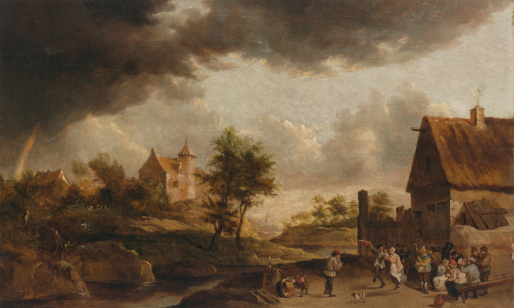 Lot image - Follower of David Teniers the Younger