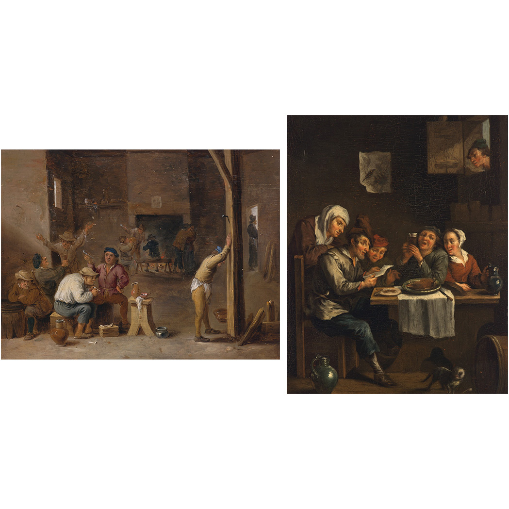 Lot image - School of David Teniers the Younger