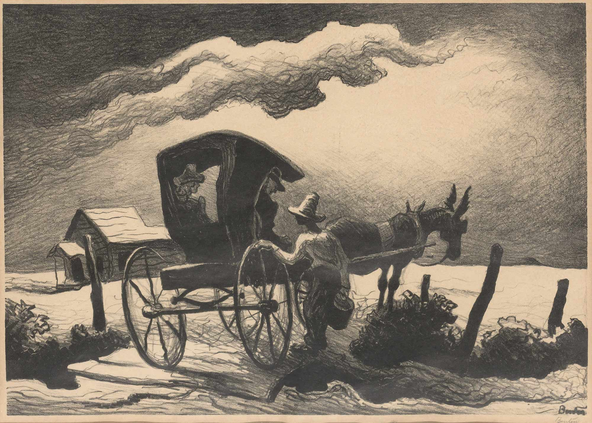 Lot image - Thomas Hart Benton