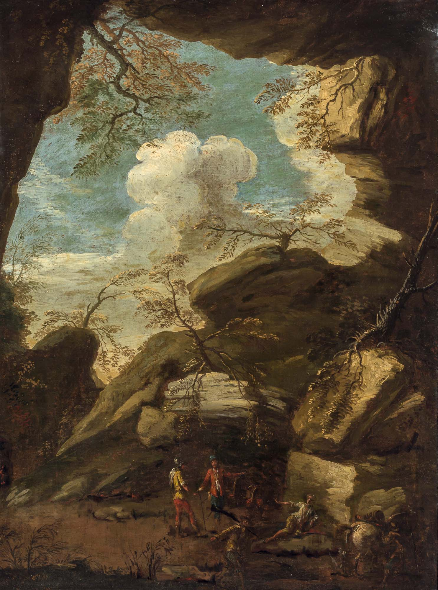 Lot image - Circle of Salvator Rosa
