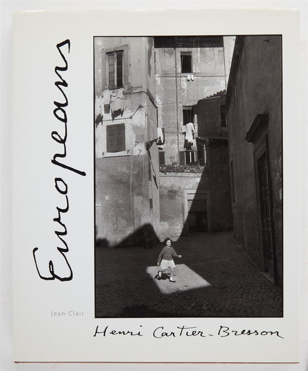 Lot image - [SIGNED PHOTOBOOKS]  CARTIER-BRESSON, HENRI. Three volumes inscribed to Anne Horton.