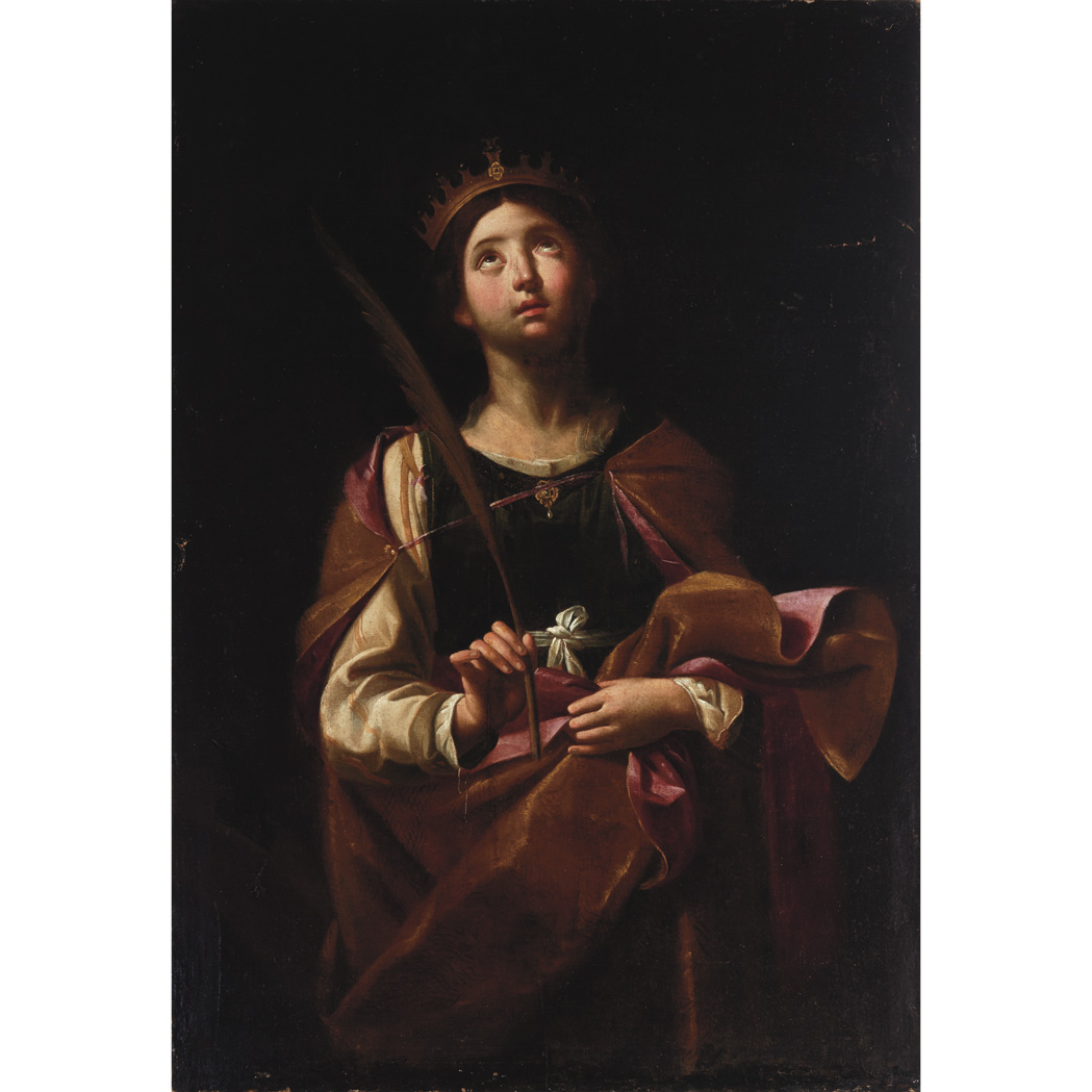 Lot image - Follower of Caravaggio