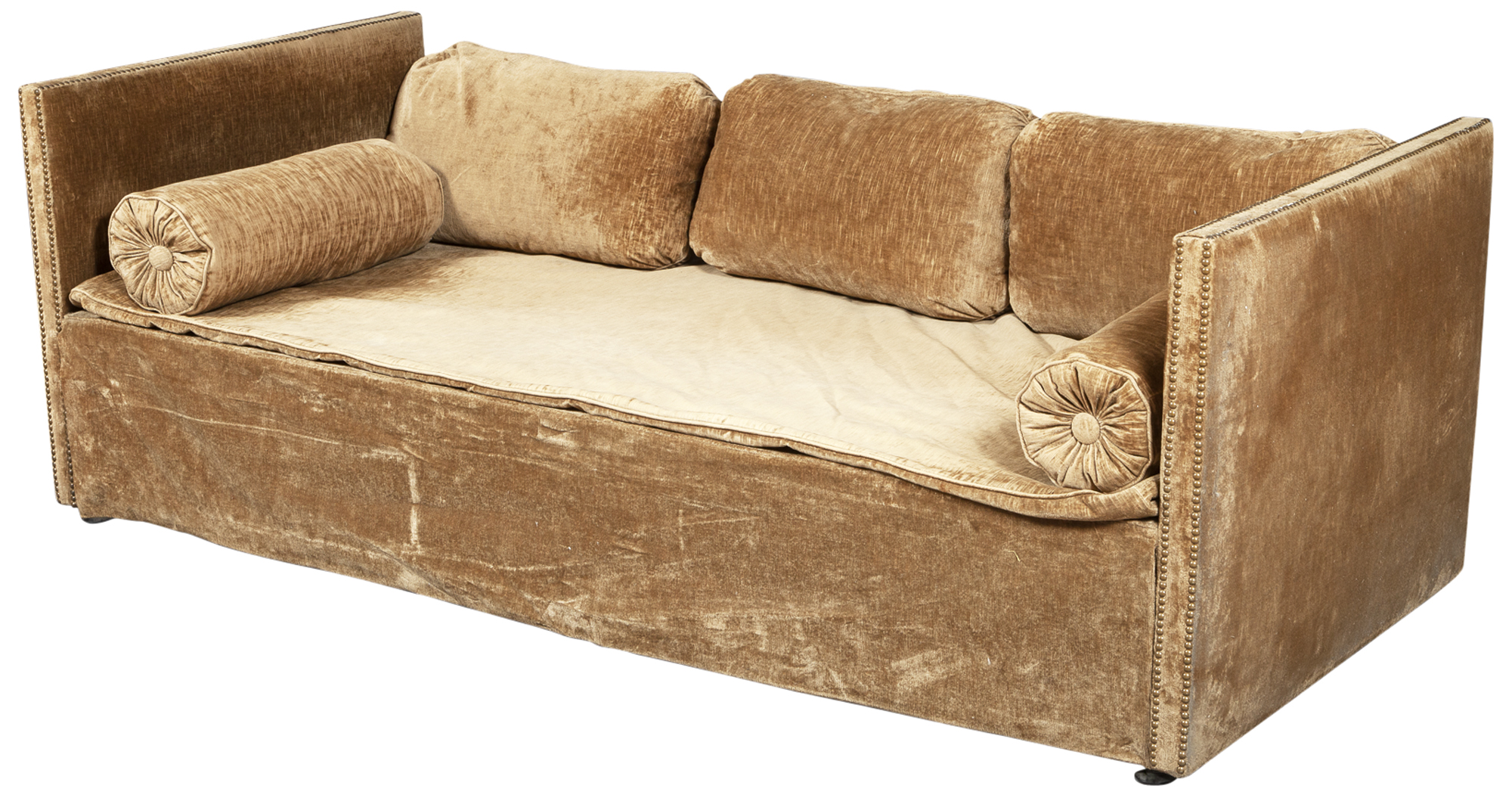 Lot image - Maison Jansen Upholstered Daybed