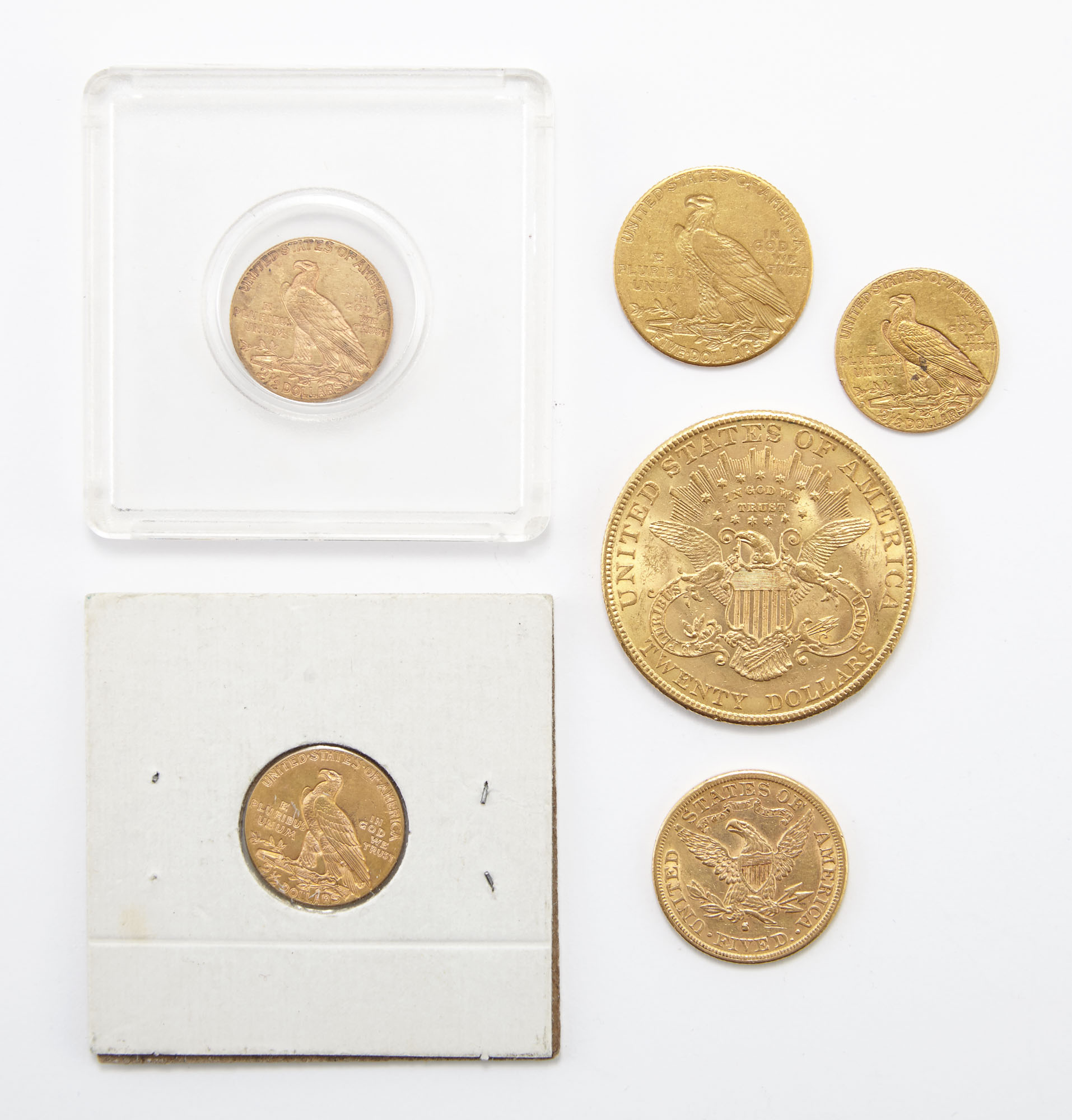 Lot image - United States Gold Coins