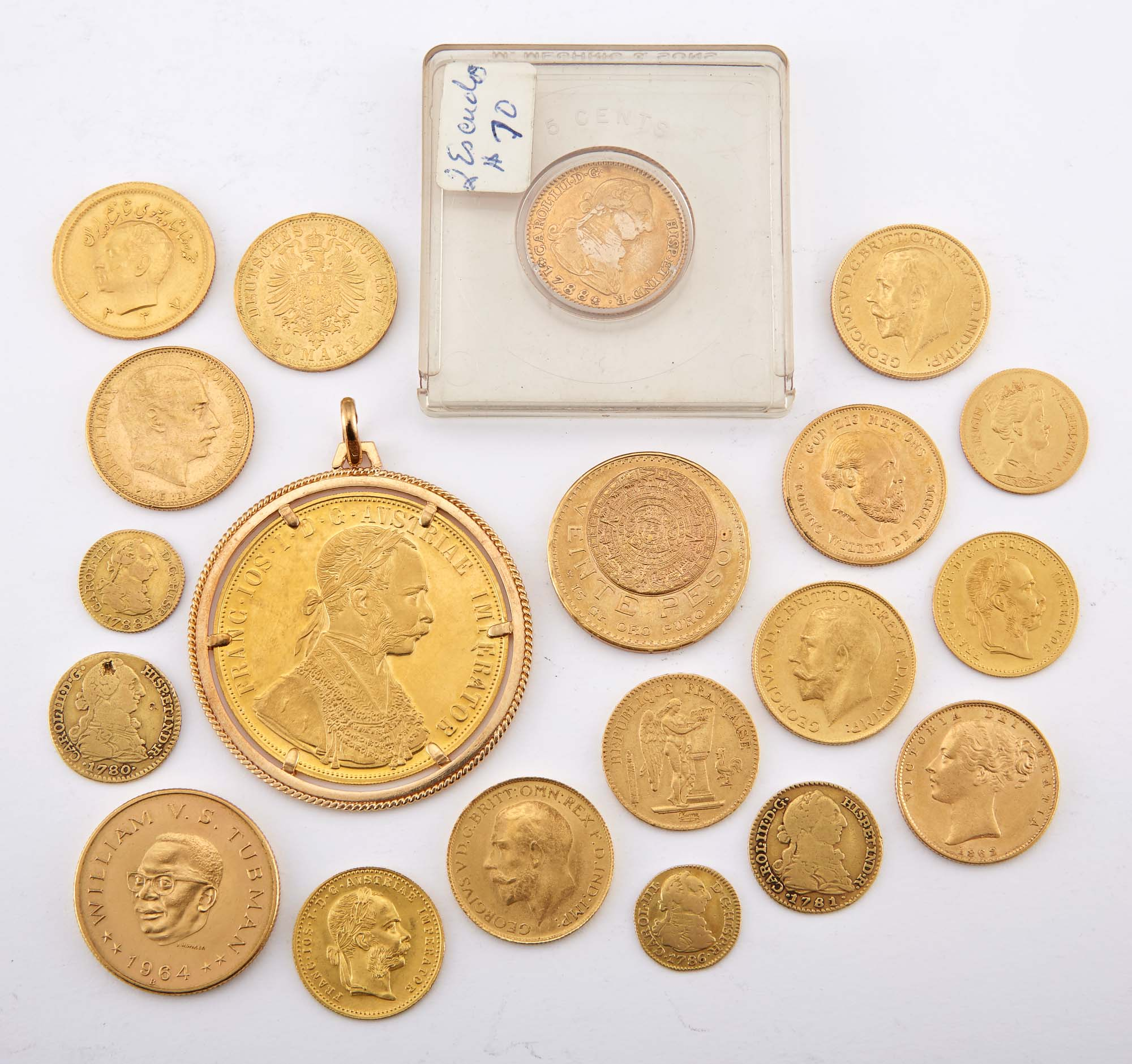 Lot image - Foreign Gold Coin Group