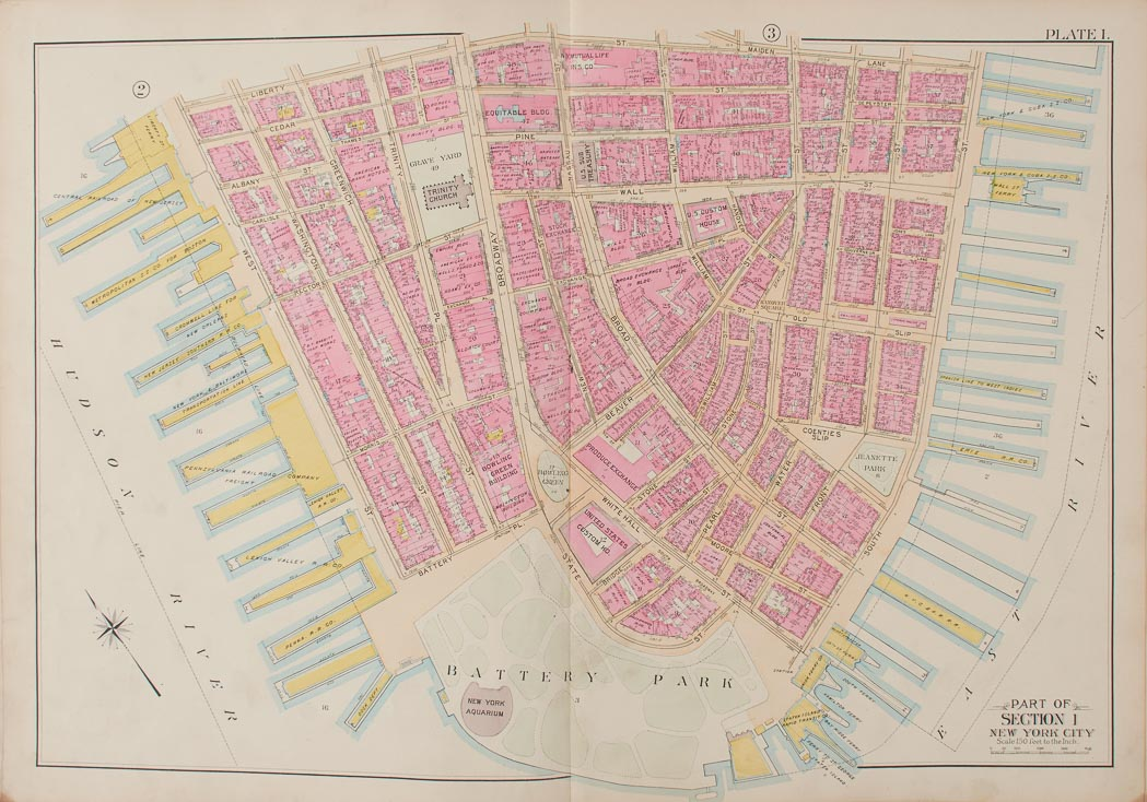 Lot image - [MAPS]  BROMLEY, GEORGE W. and WALTER S. Atlas of the City of New York.