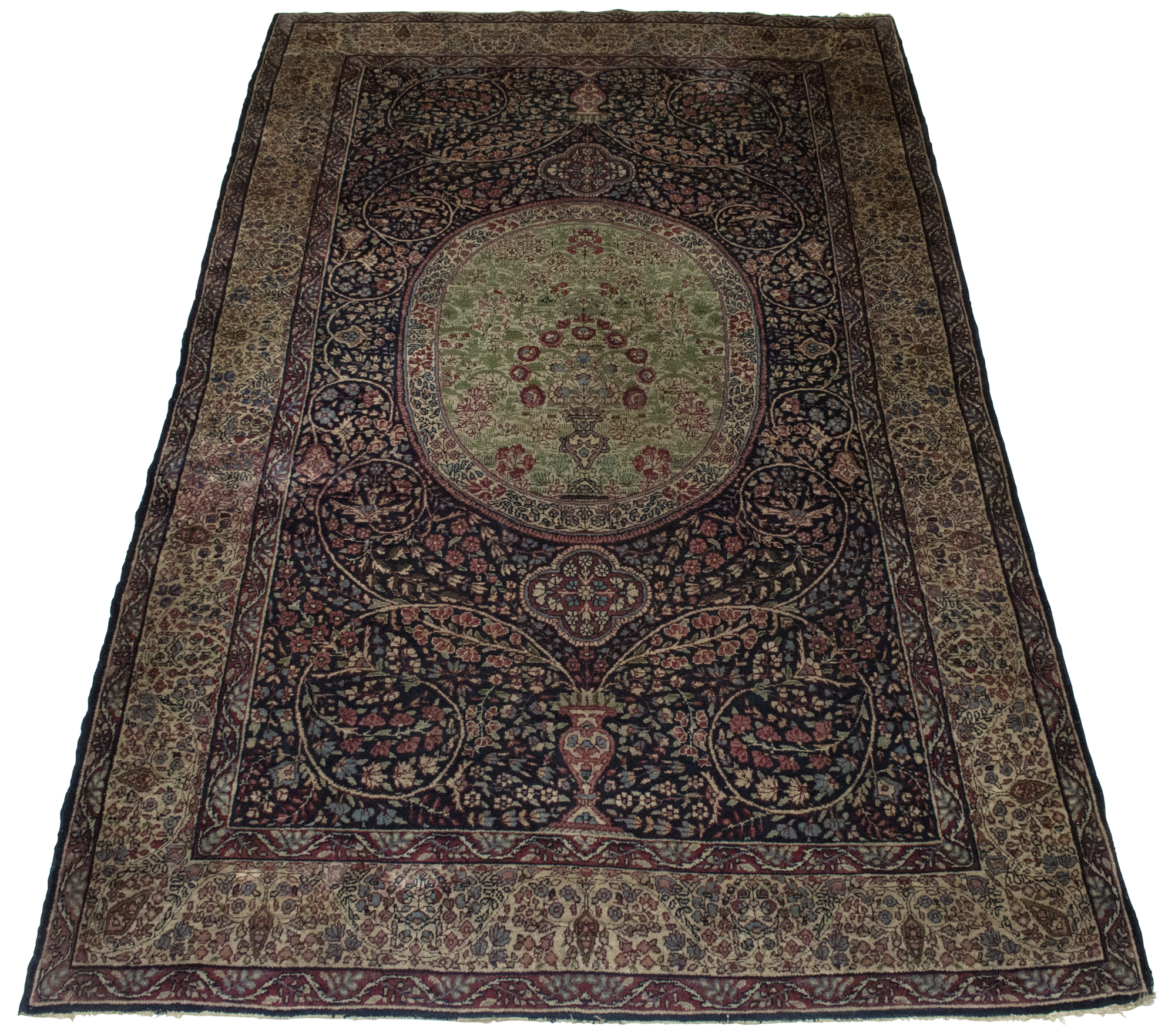 Lot image - Lavar Kerman Carpet