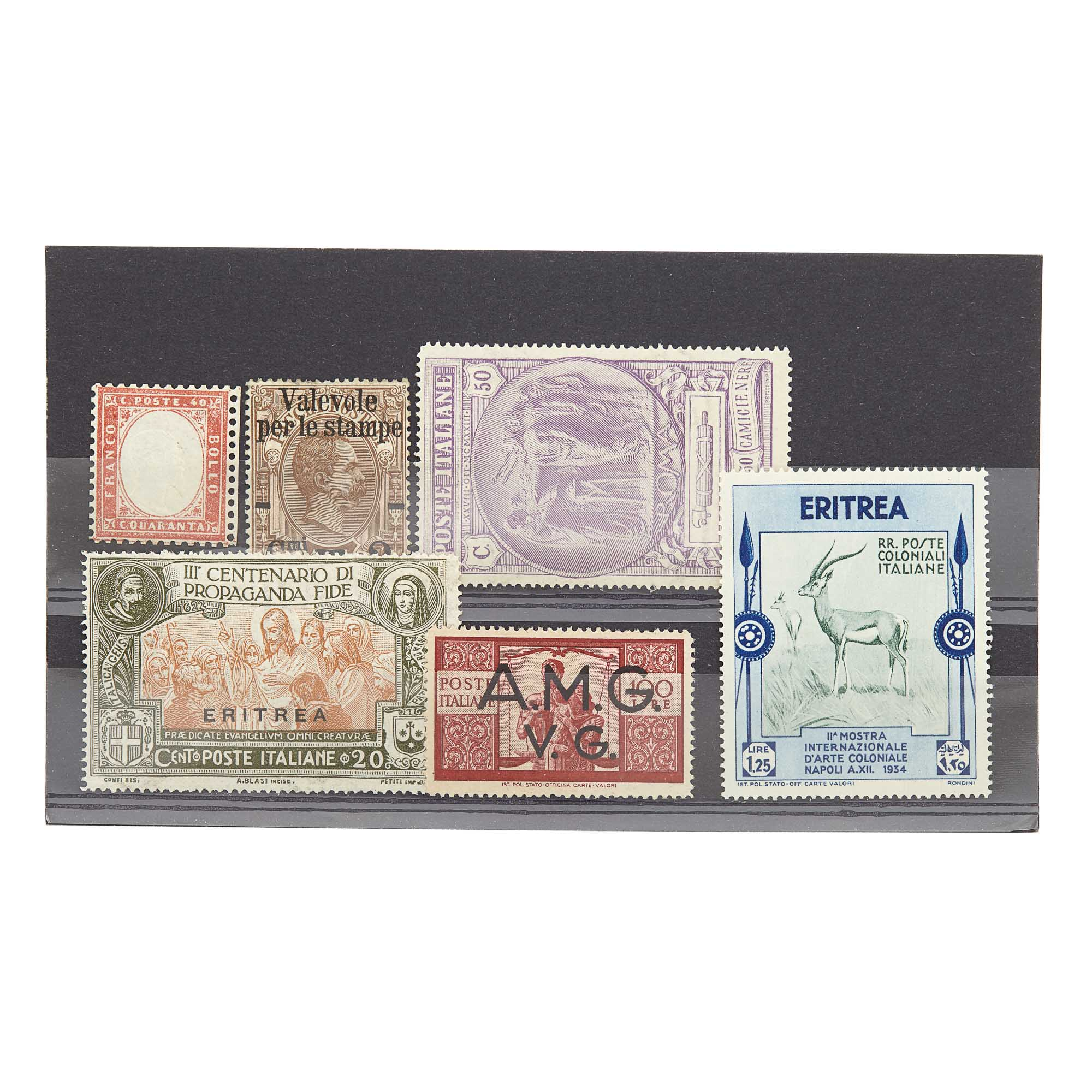 Lot image - Italian Stamp Group
