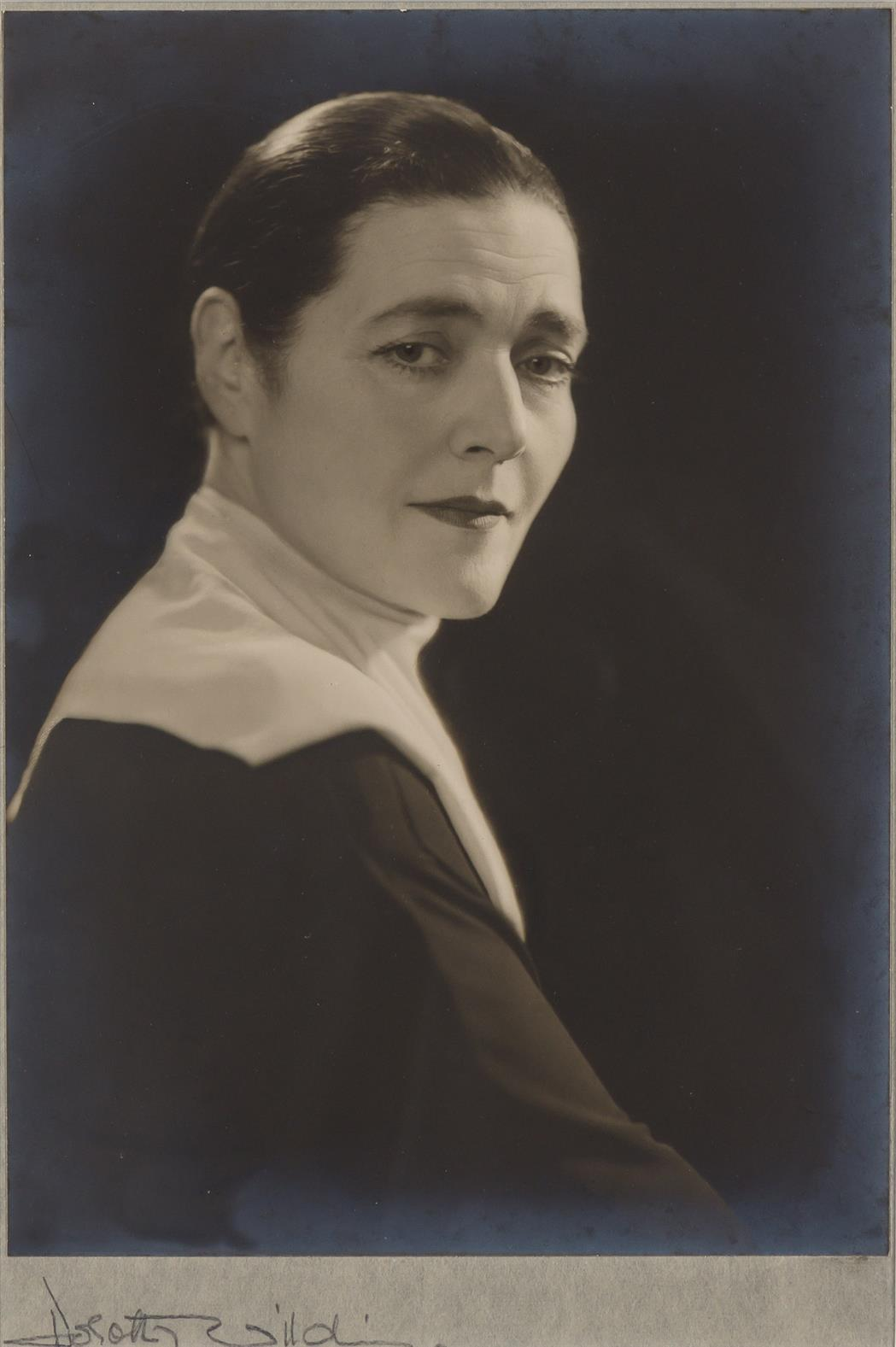 Lot image - WILDING, DOROTHY  [Fannie Hurst]