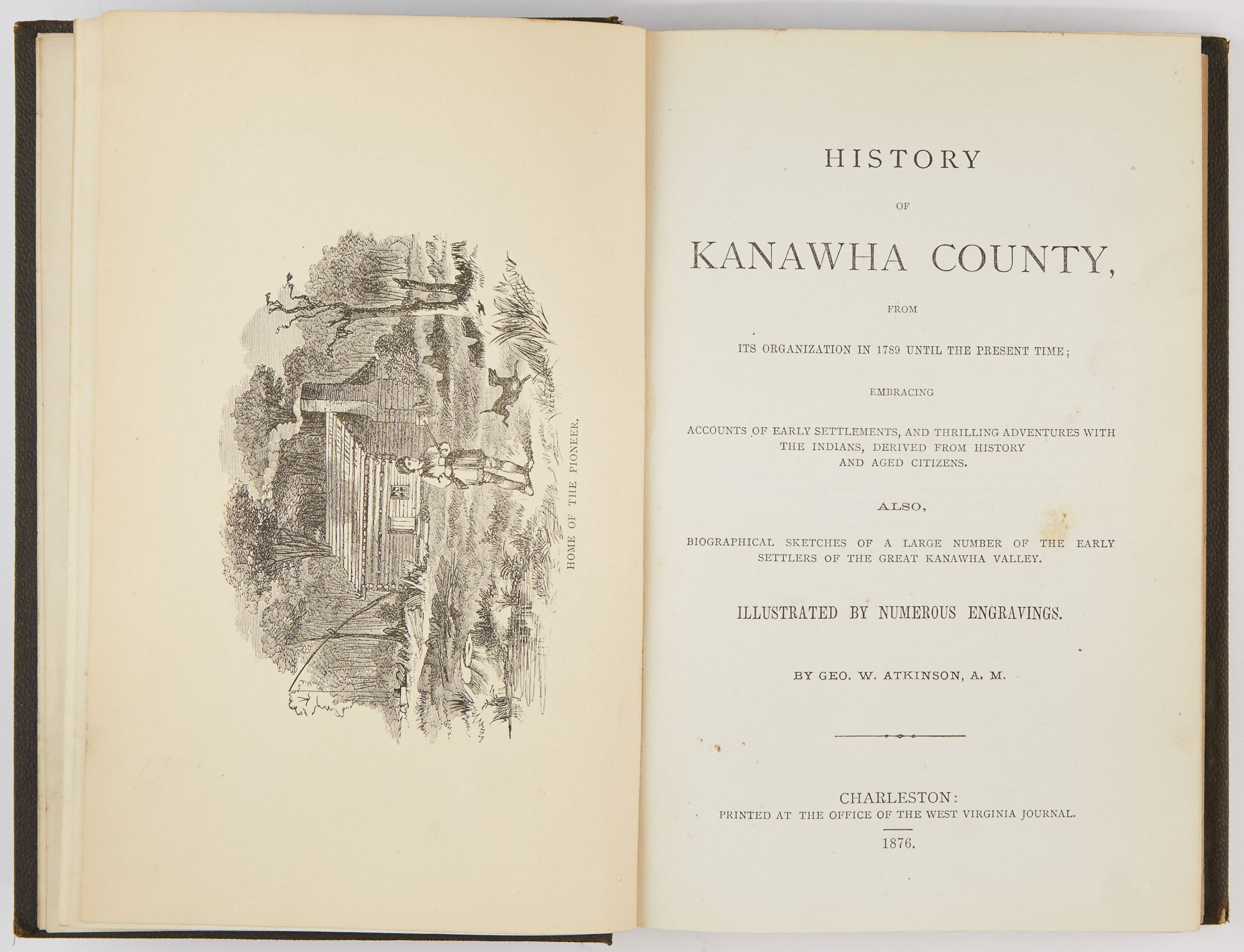 Lot image - ATKINSON, GEO[RGE] W.  History of Kanawha County, from its organization in 1789 until the present time...