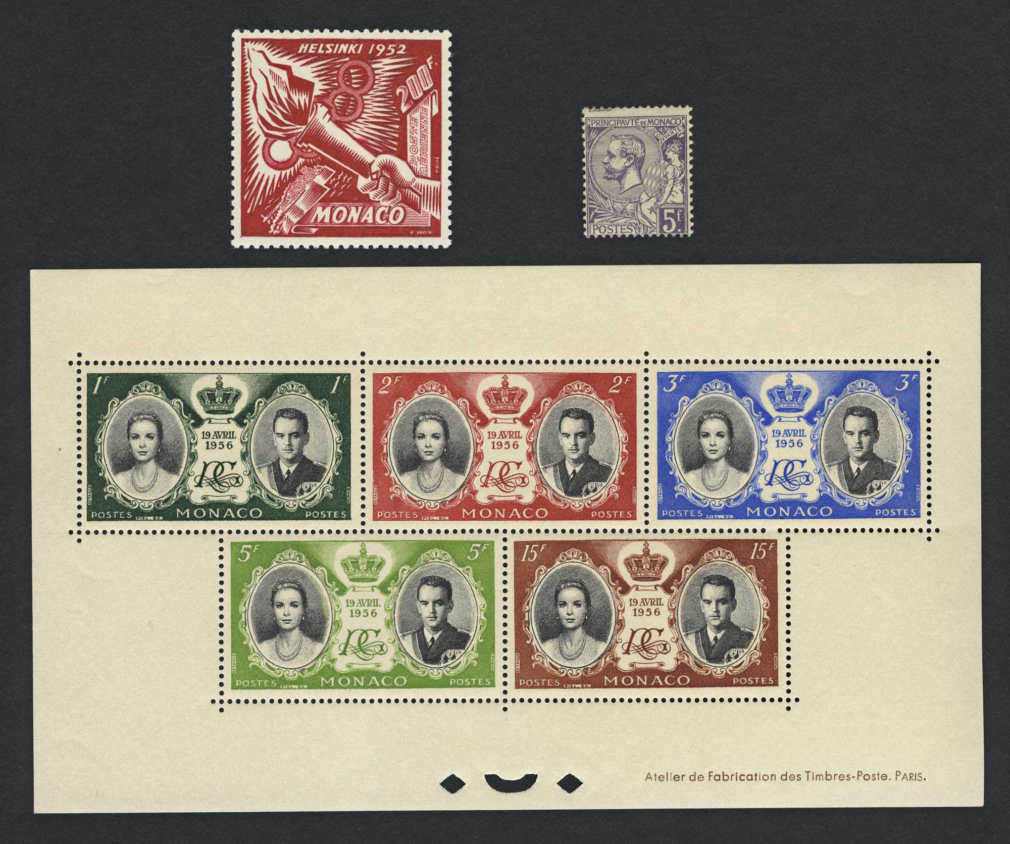 Lot image - Monaco Stamp Group
