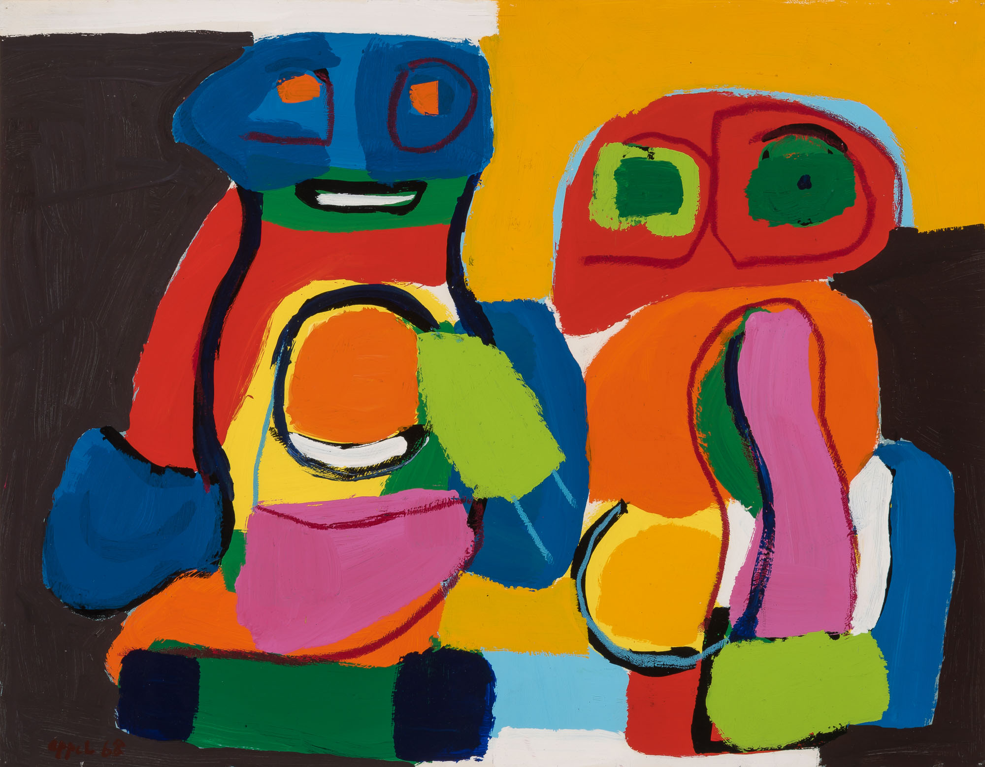 Lot image - Karel Appel