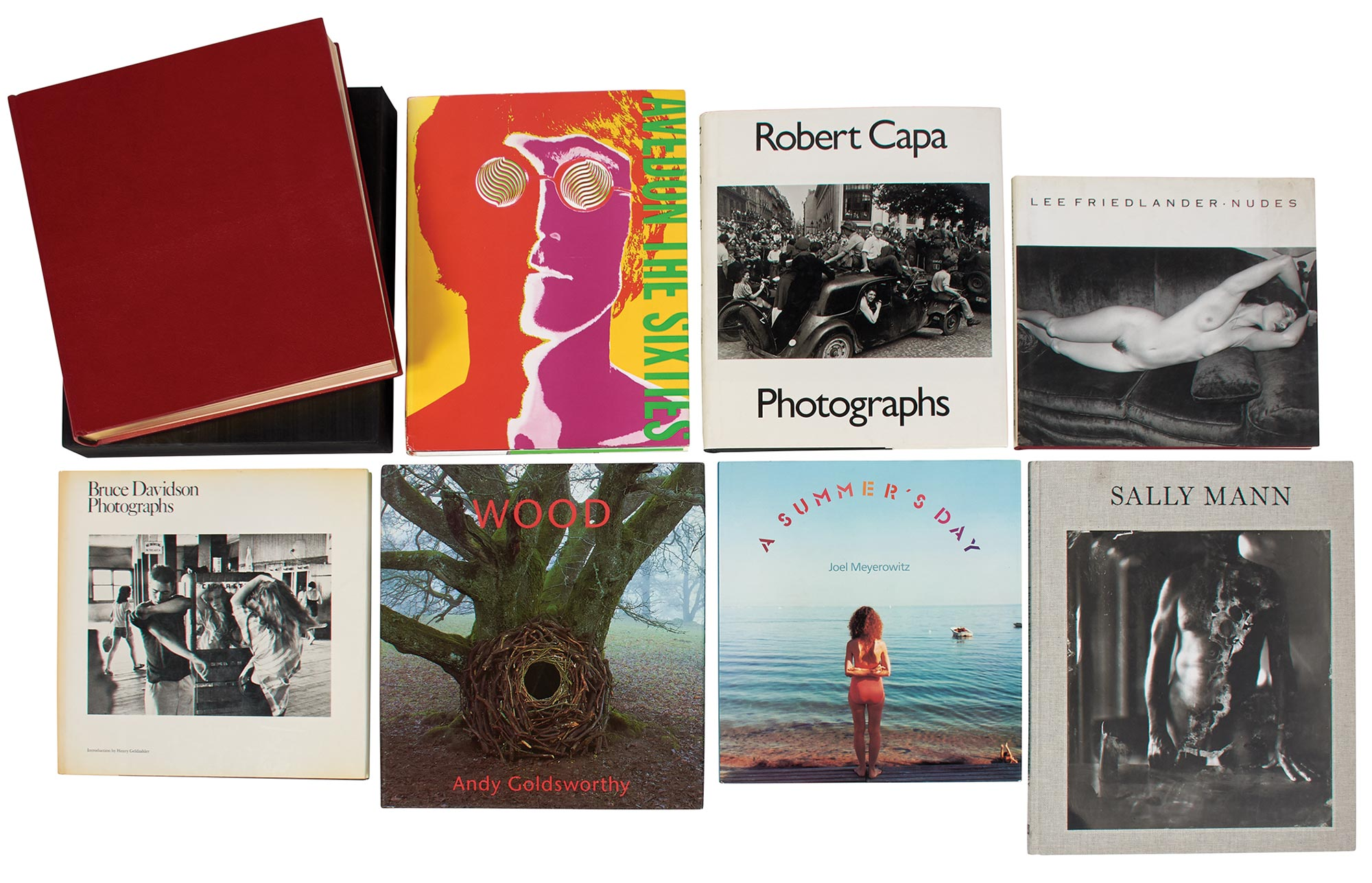Lot image - [MONOGRAPHS]  Group of approximately fifty oversized photography books,