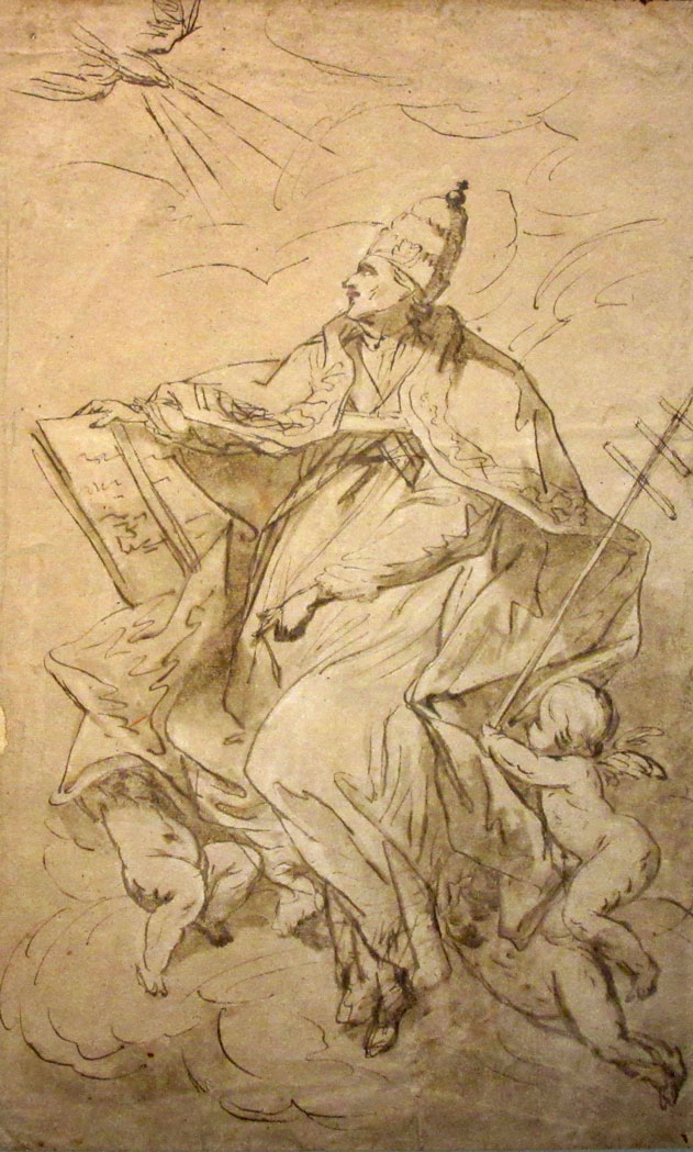 Lot image - Attributed to Giovanni Battista Beinaschi