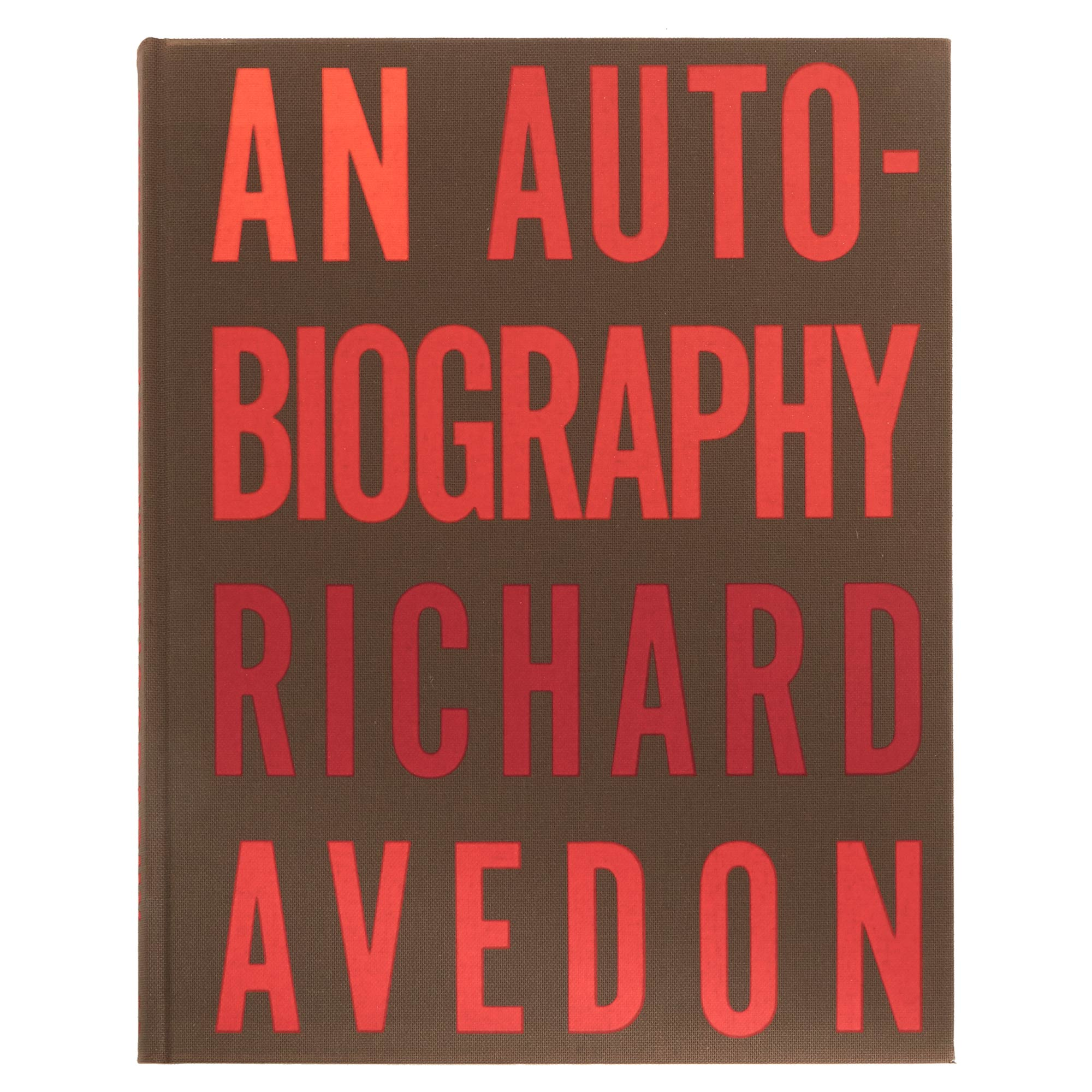 Lot image - AVEDON, RICHARD  An Autobiography.