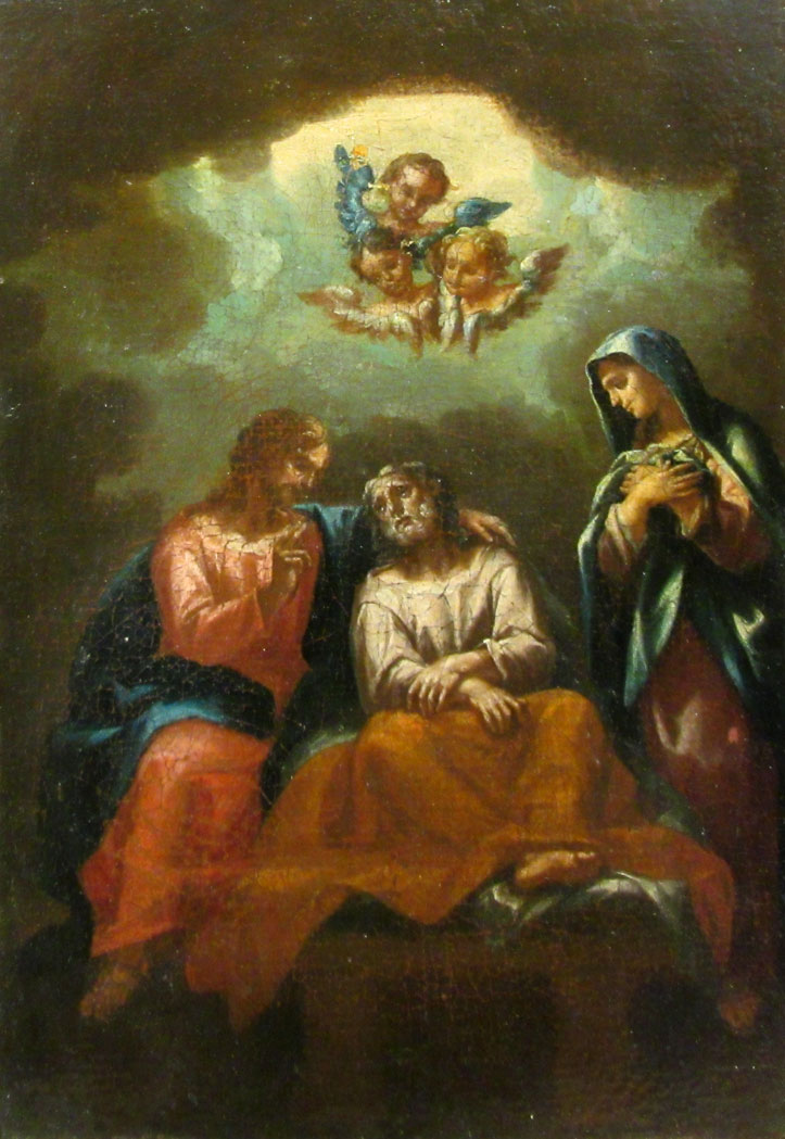 Lot image - The Death of St. Joseph
