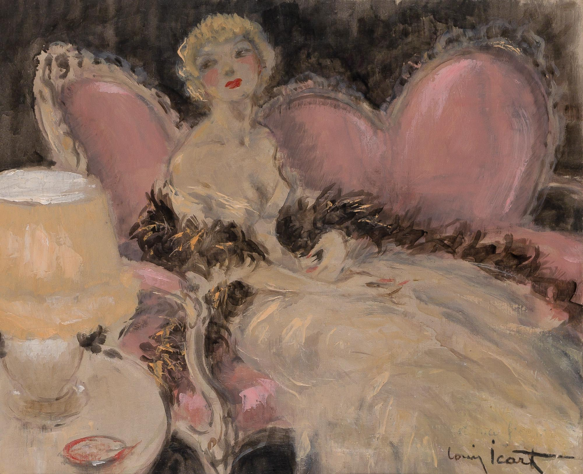 Lot image - Louis Icart