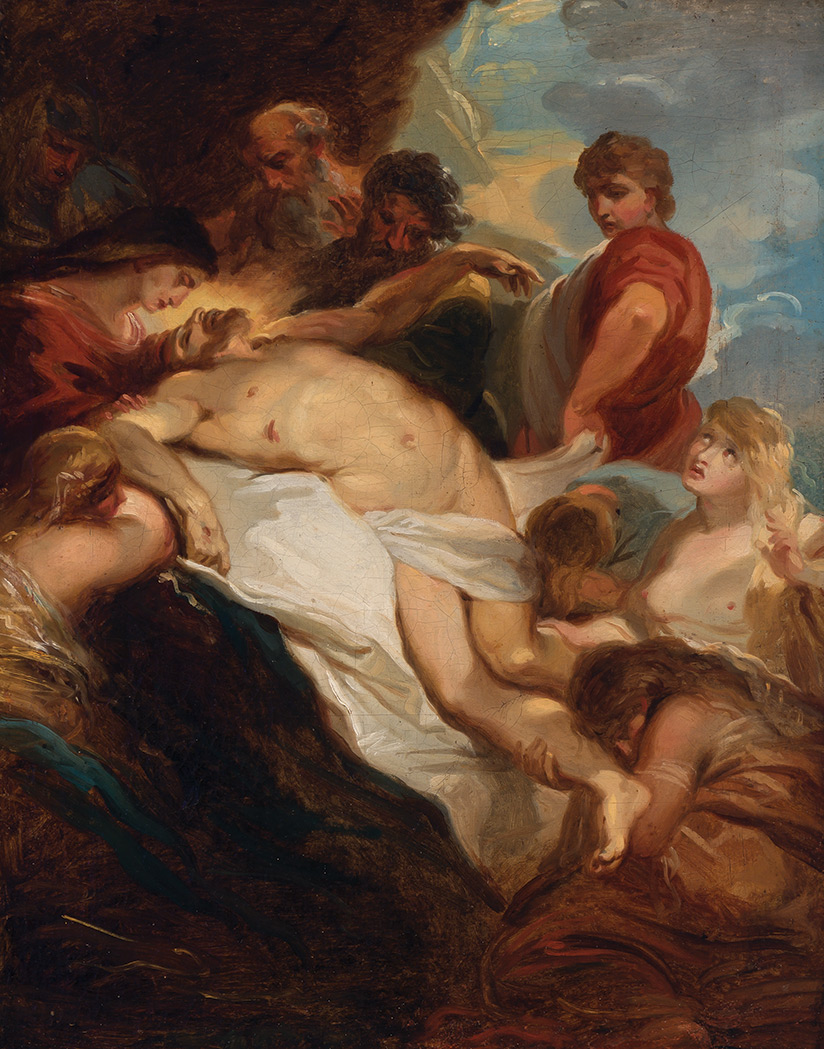 Lot image - Attributed to Jean-Baptiste-Henri  Deshays