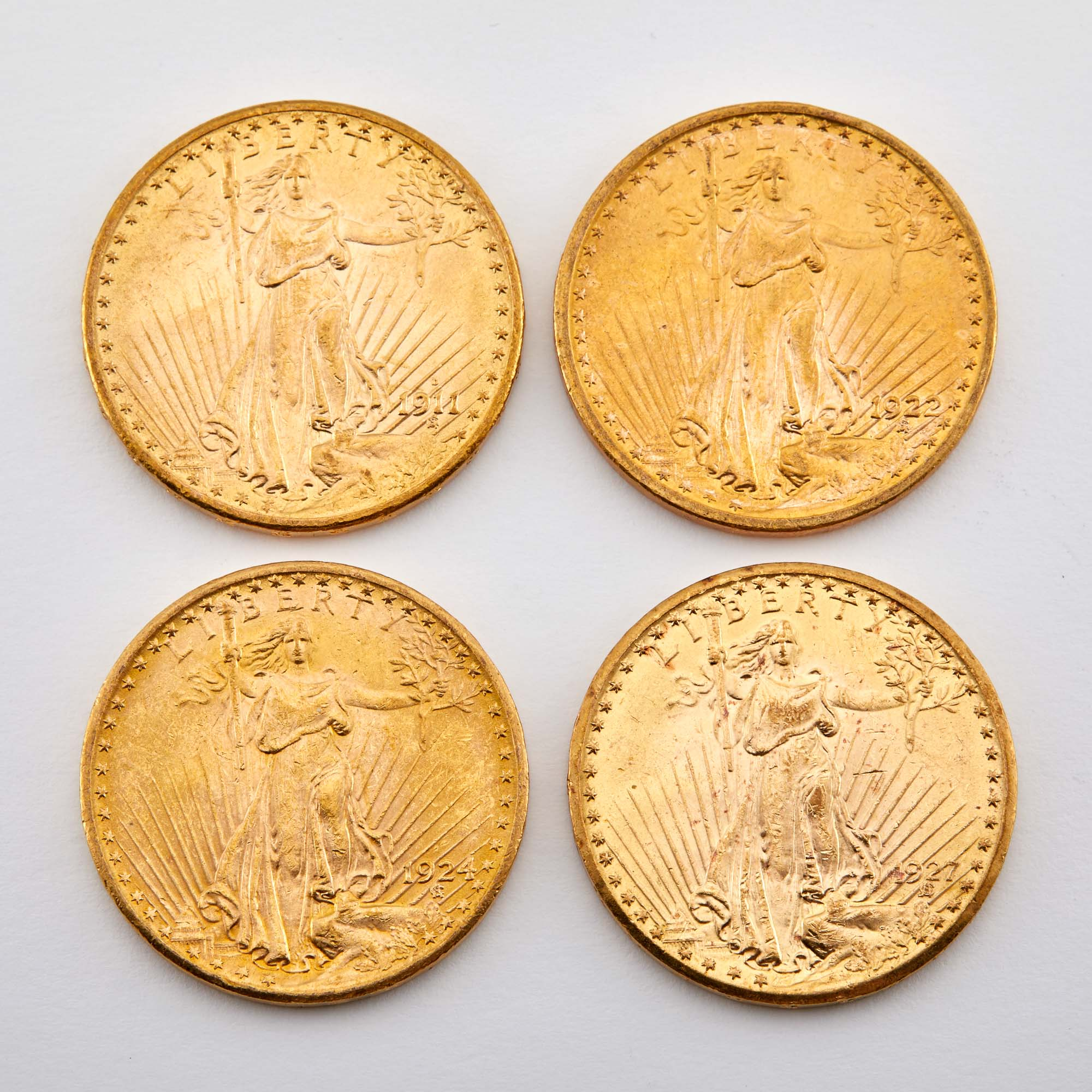 Lot image - United States St. Gaudens Group of Four