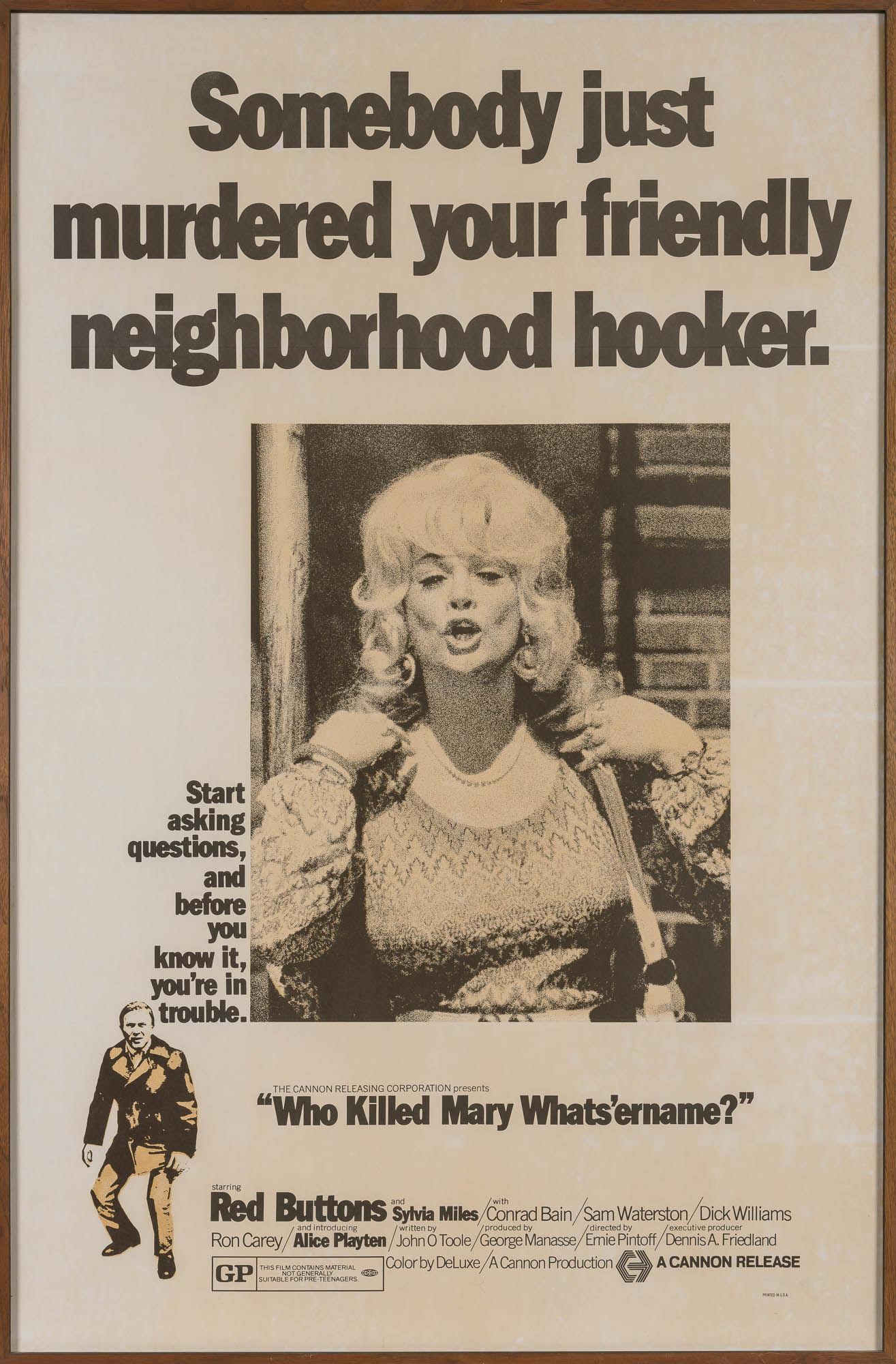 Lot image - [FILM POSTER]  Who Killed Mary Whatsername?