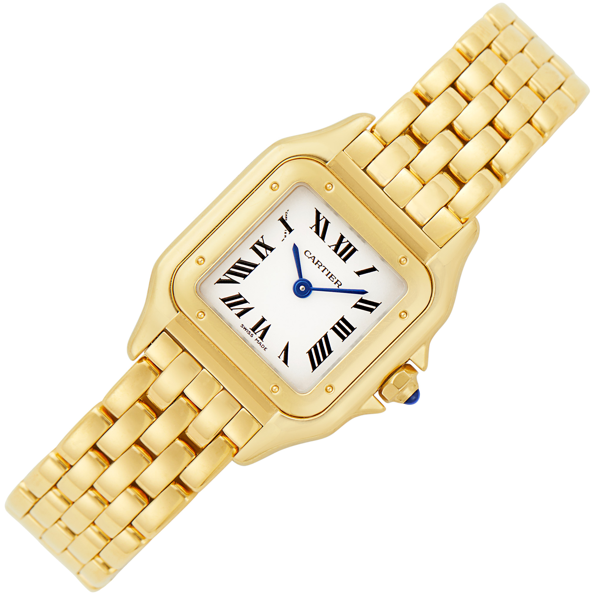 Lot image - Gold Panthère Wristwatch, Cartier