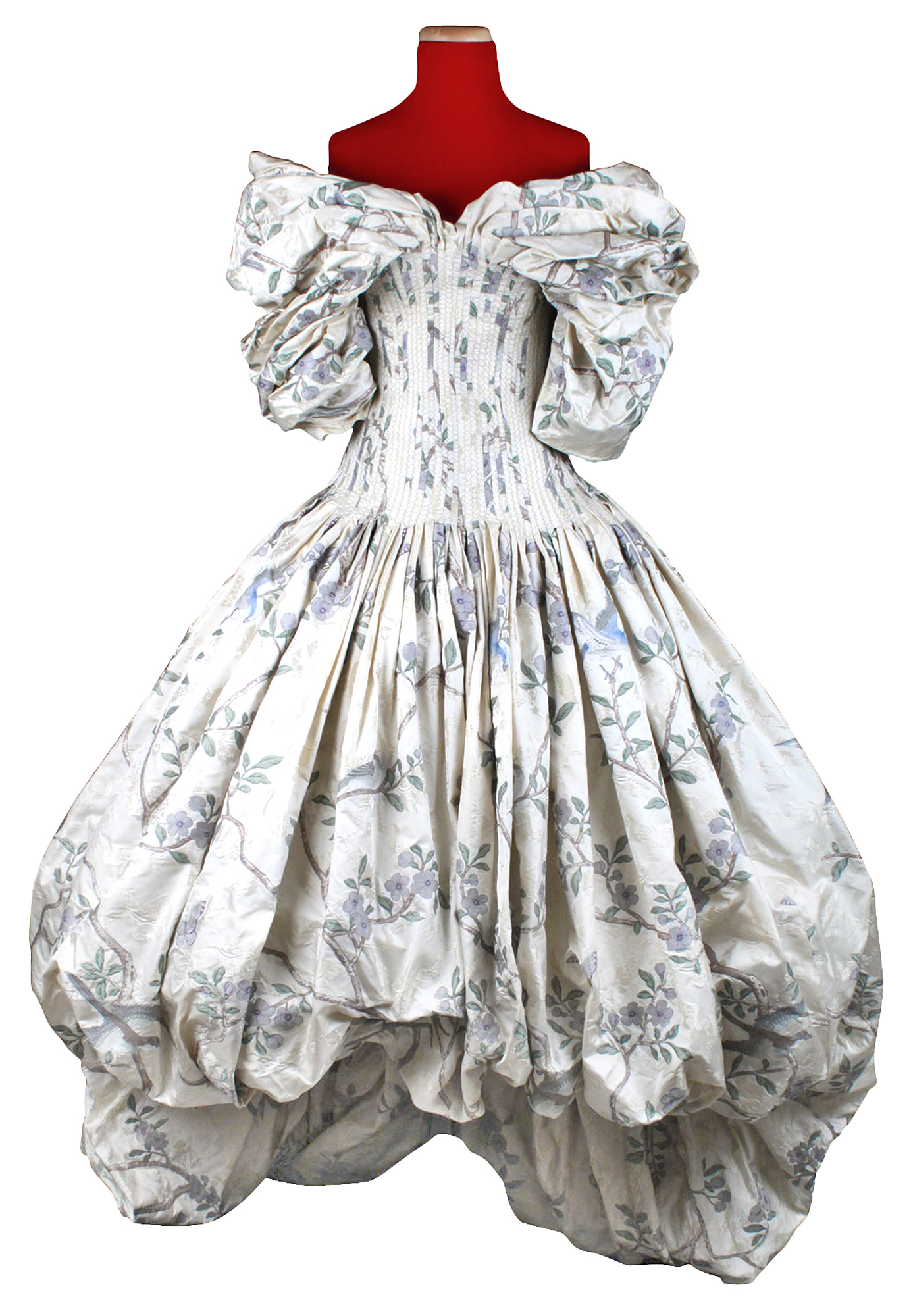 Lot image - Floral Print Ballroom Gown, The Widows of Culloden, Autumn-Winter, 2006