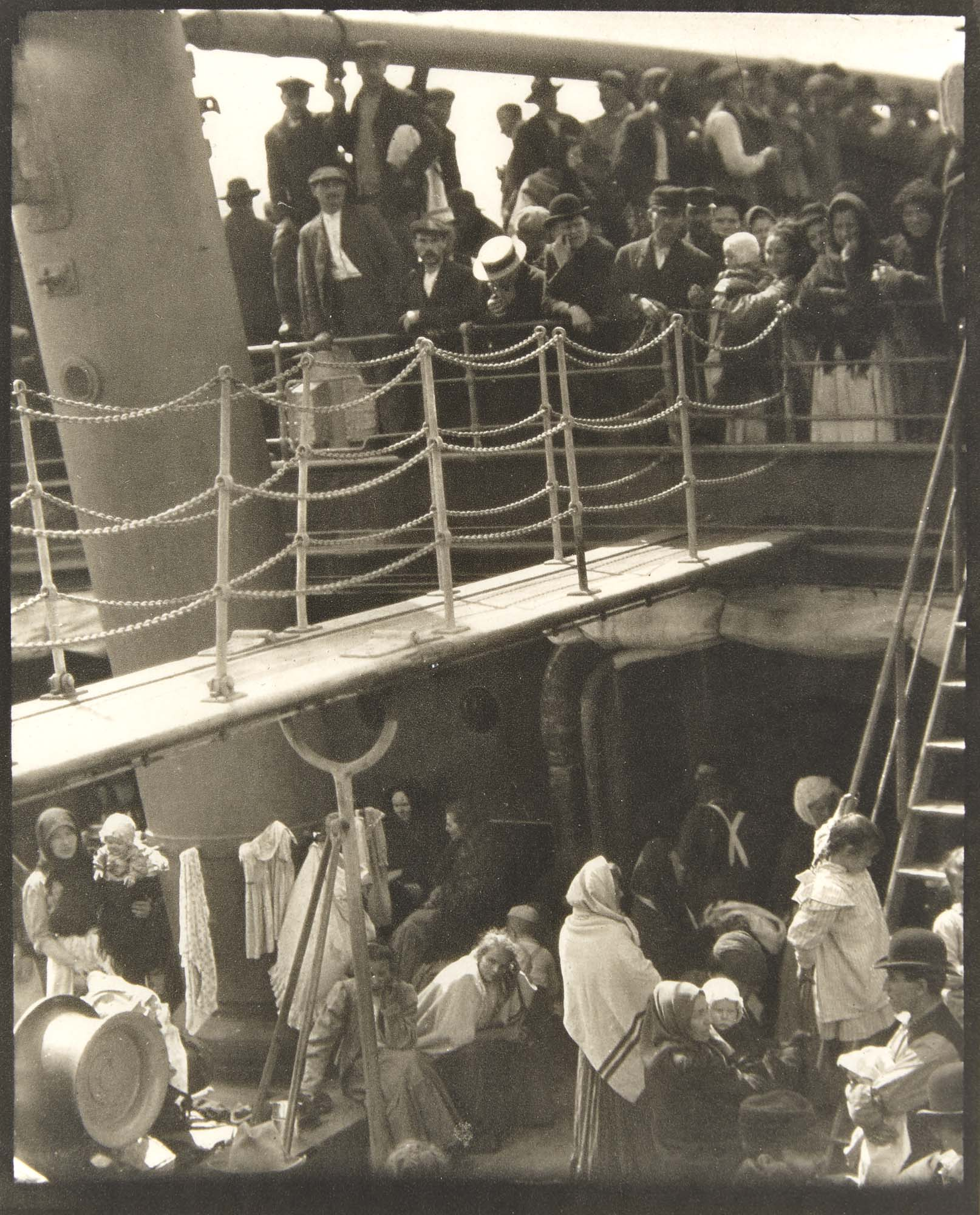 Lot image - STIEGLITZ, ALFRED (1864-1946)  [The Steerage],